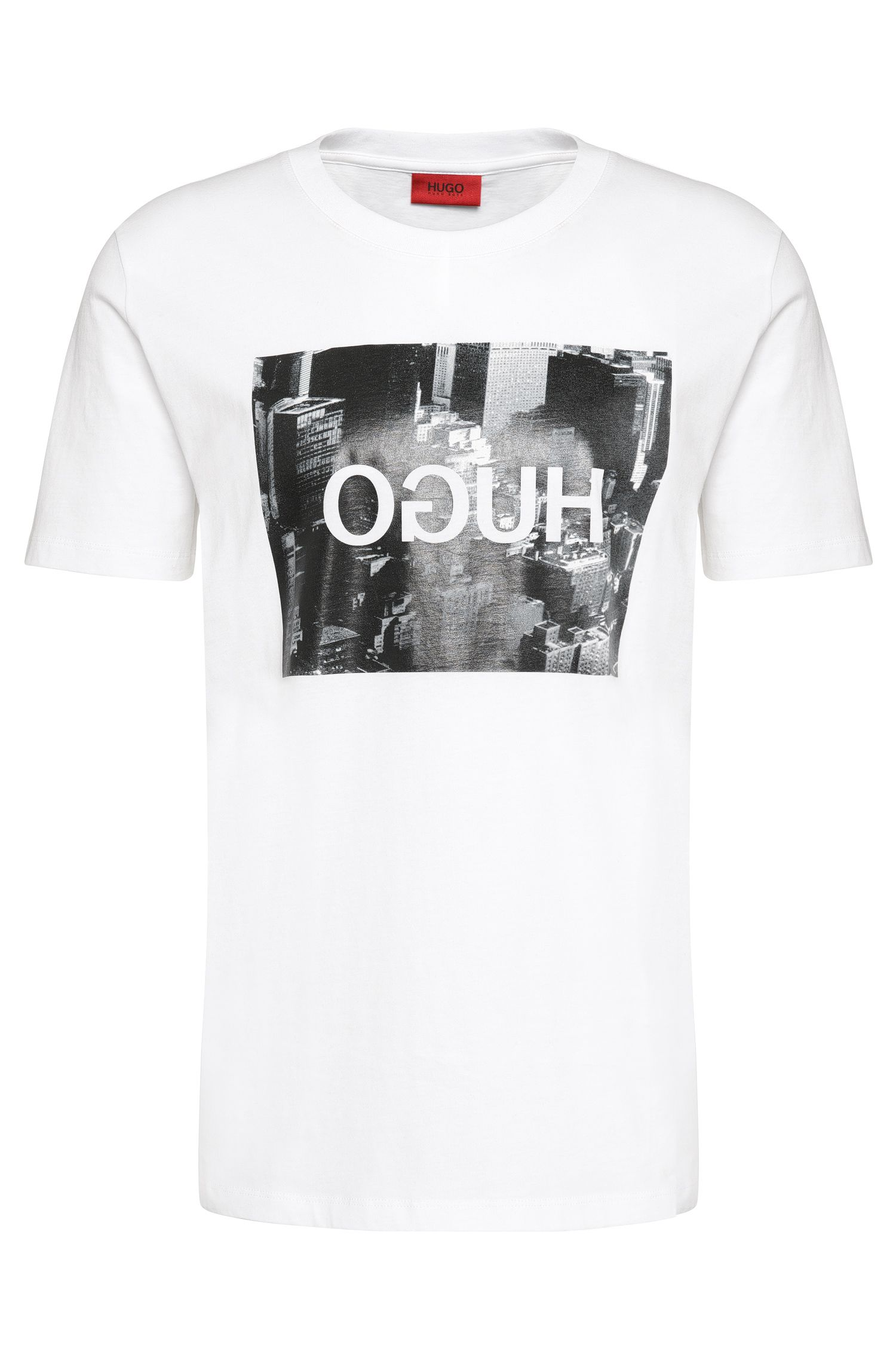 Loose-Fit T-Shirt aus Baumwolle mit Front-Print: 'Danorama'