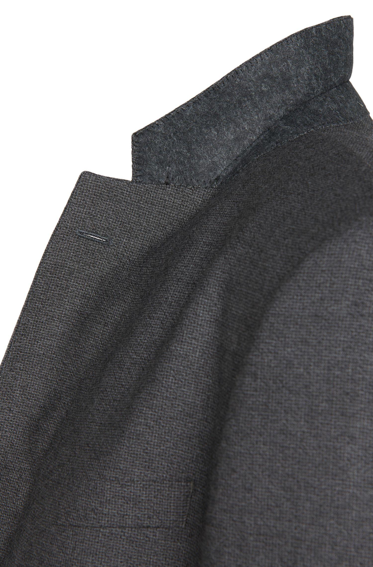 Costume Regular Fit en laine vierge structurée: «Johnstons1/Lenon»