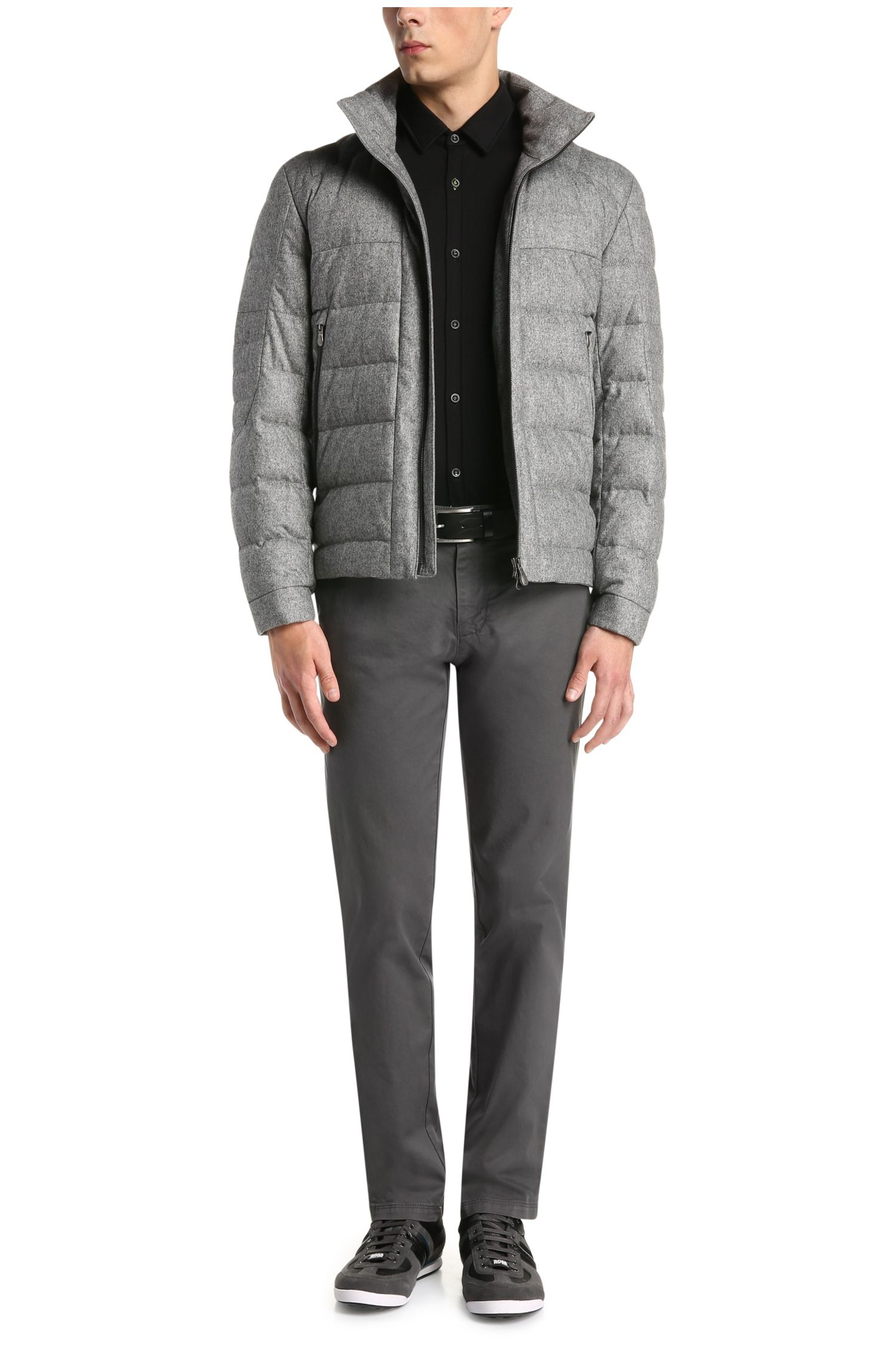 Regular-Fit Hose aus elastischer Baumwolle: ´C-Crigan2-4-D`