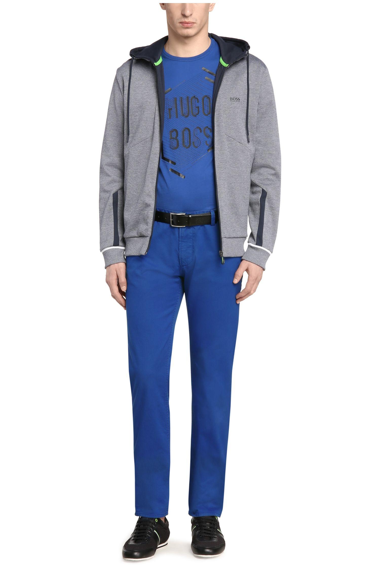 Slim-Fit Hose aus Baumwolle mit Elasthan: ´C-Rice-1-D`