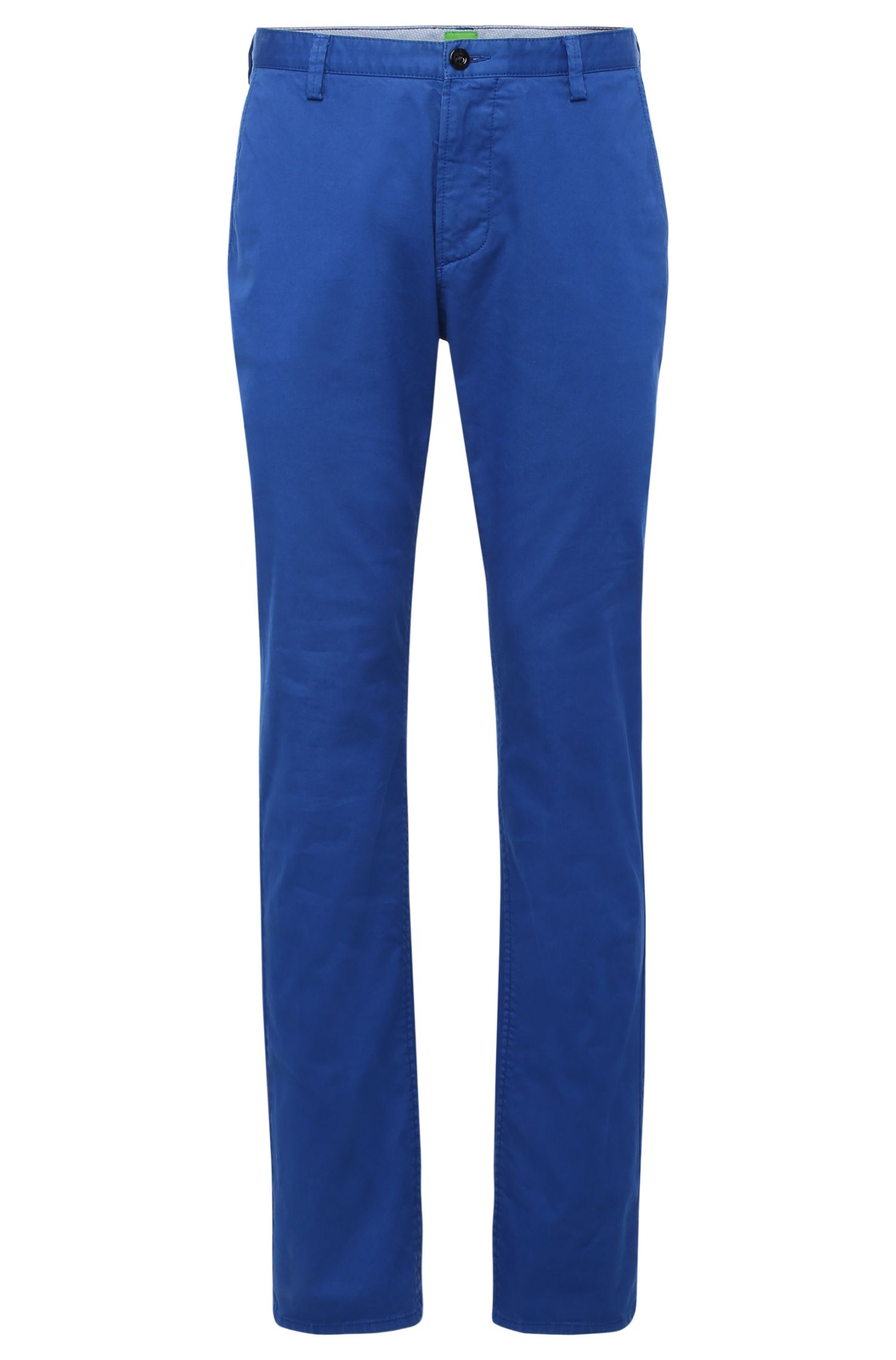 Pantaloni slim fit in cotone ed elastan: 'C-Rice-1-D'