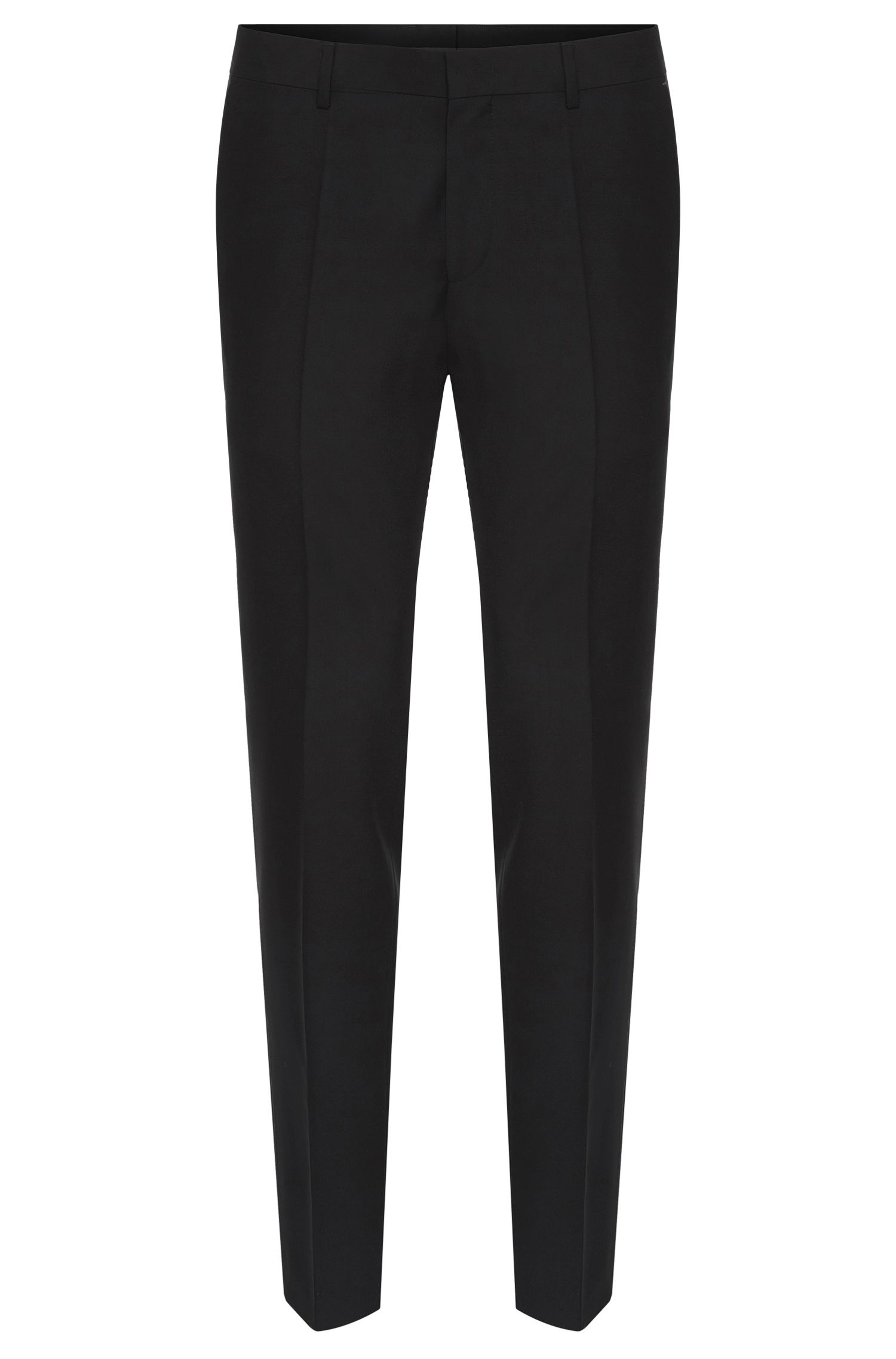 Slim-fit trousers in new-wool blend with cashmere: 'Genesis2'