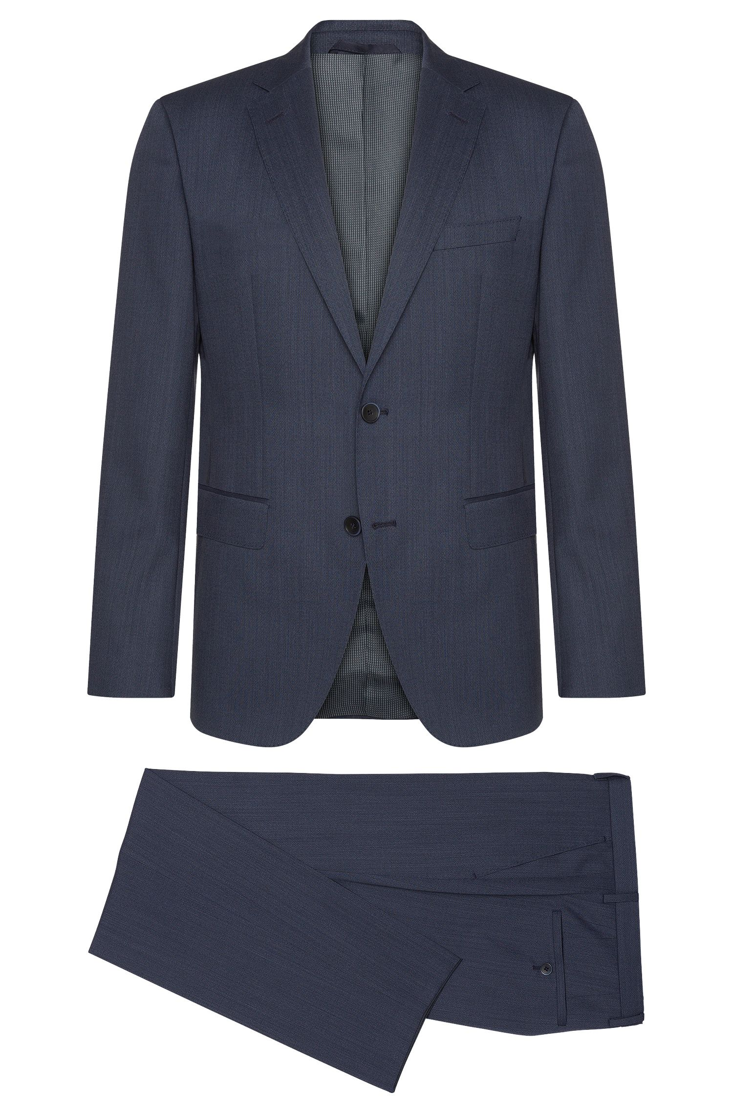Regular-fit suit in pure new wool: 'Jewels/Linus'