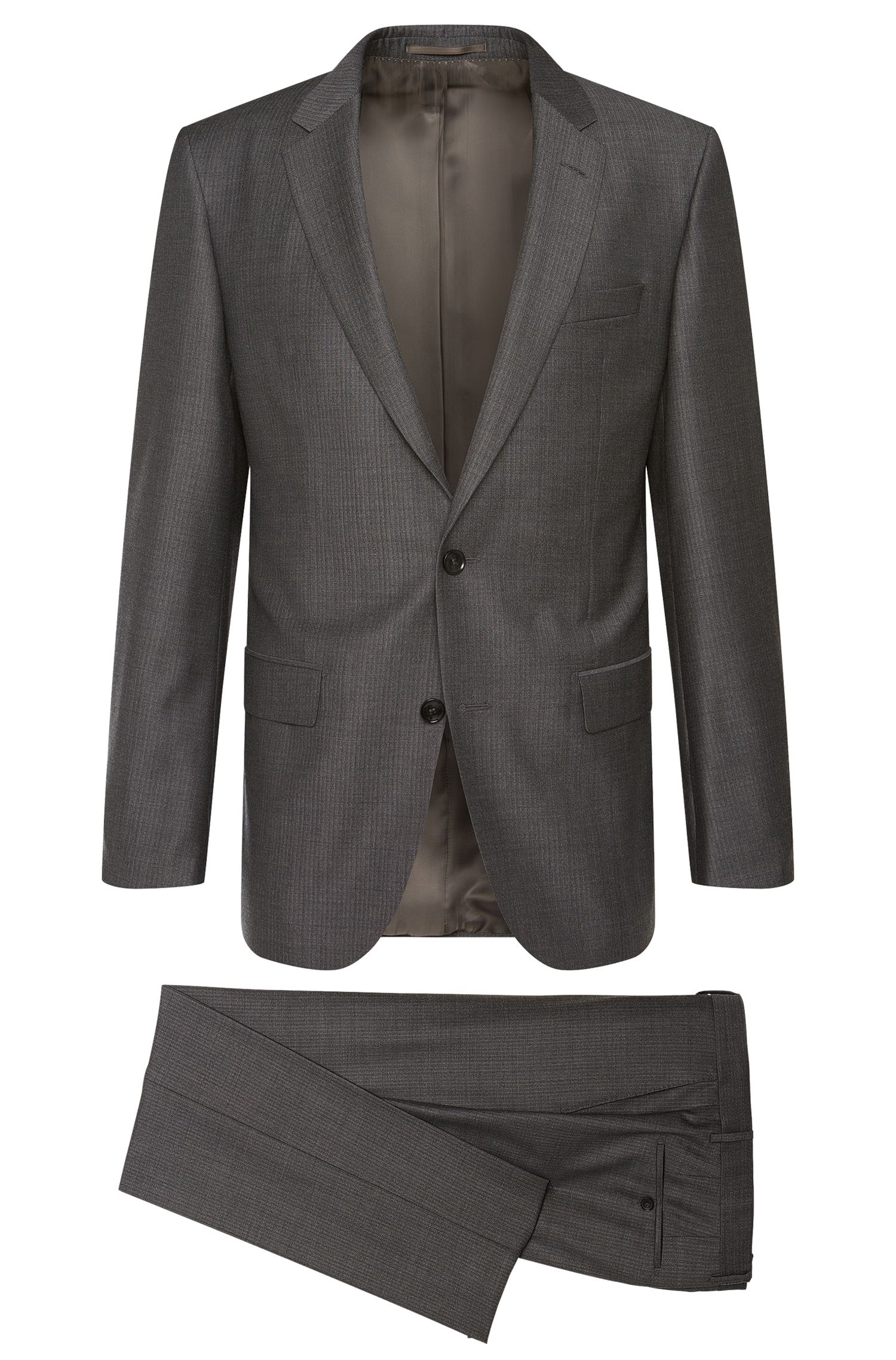 Slim-Fit Tailored Anzug aus feiner Schurwolle: 'T-Harvers1/Glover1'