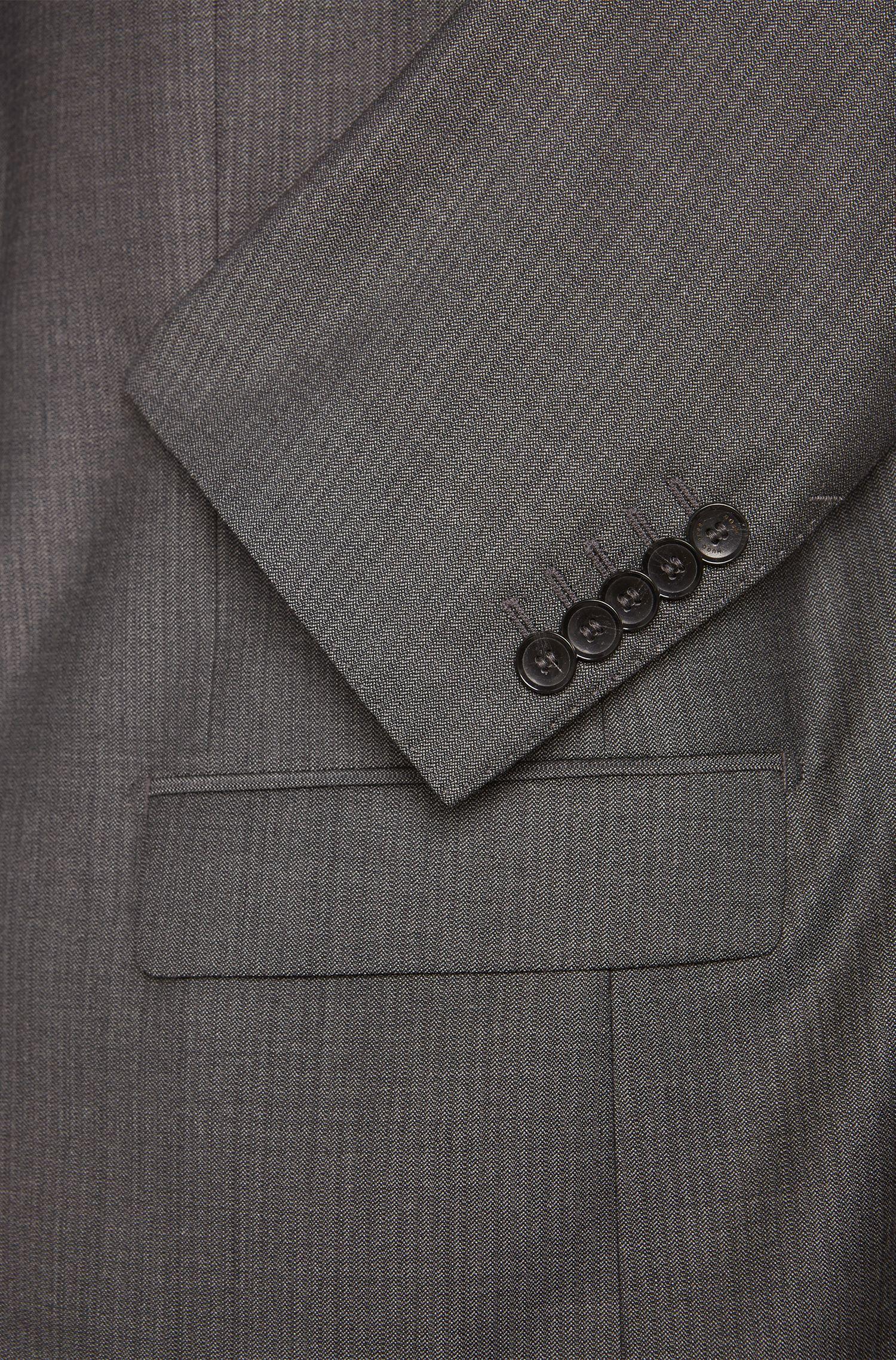 Slim-Fit Tailored Anzug aus feiner Schurwolle: 'T-Harvers1/Glover1'