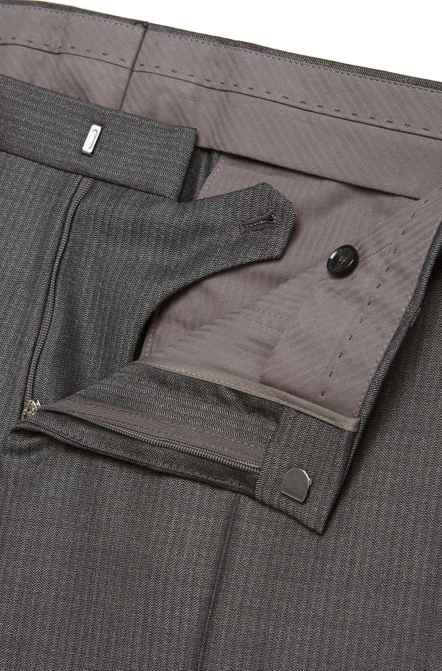 Costume Slim Fit Tailored en fine laine vierge: «T-Harvers1/Glover1»