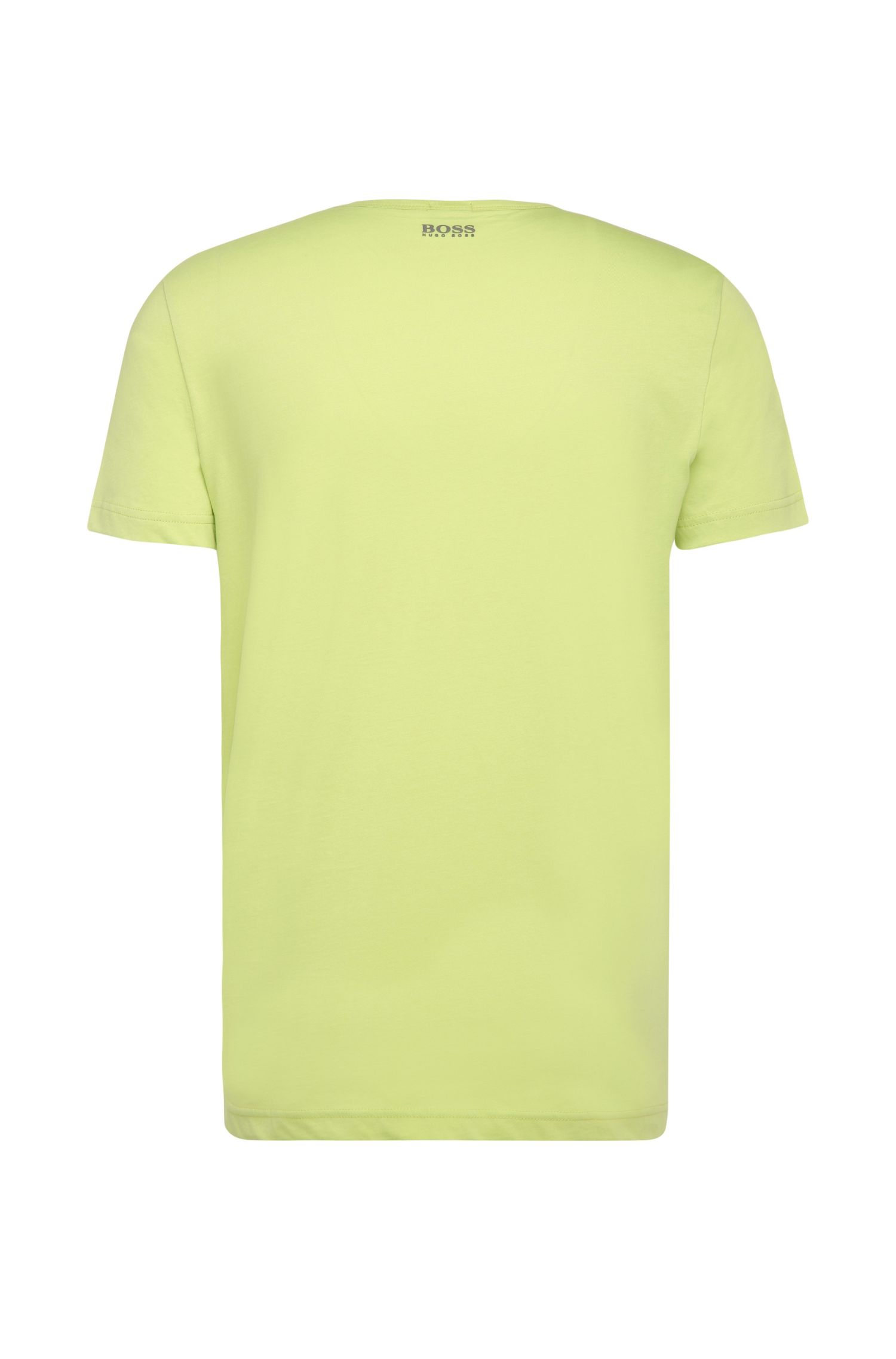 T-shirt Regular Fit imprimé en pur coton : « Tee 2 »
