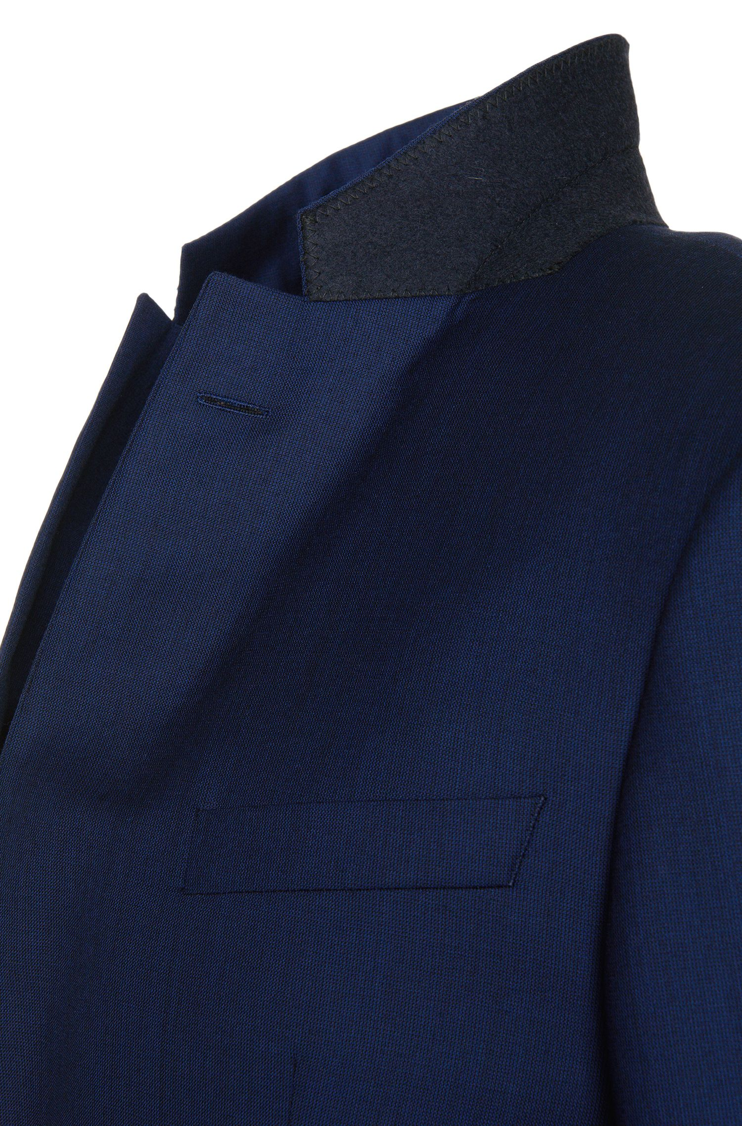 Costume Slim Fit en fine laine vierge: «T-Harvers1/Glover1»