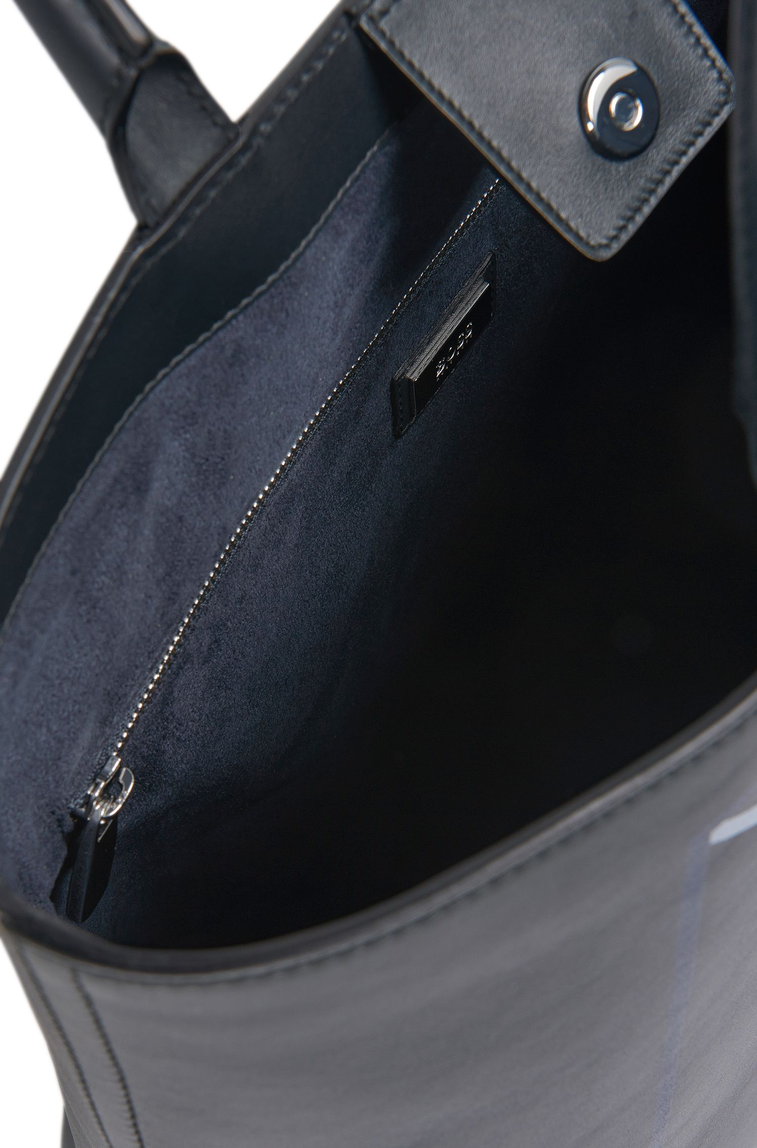 Shopper aus Leder mit grafischem Print: 'Miro SH 16PF_Tote'