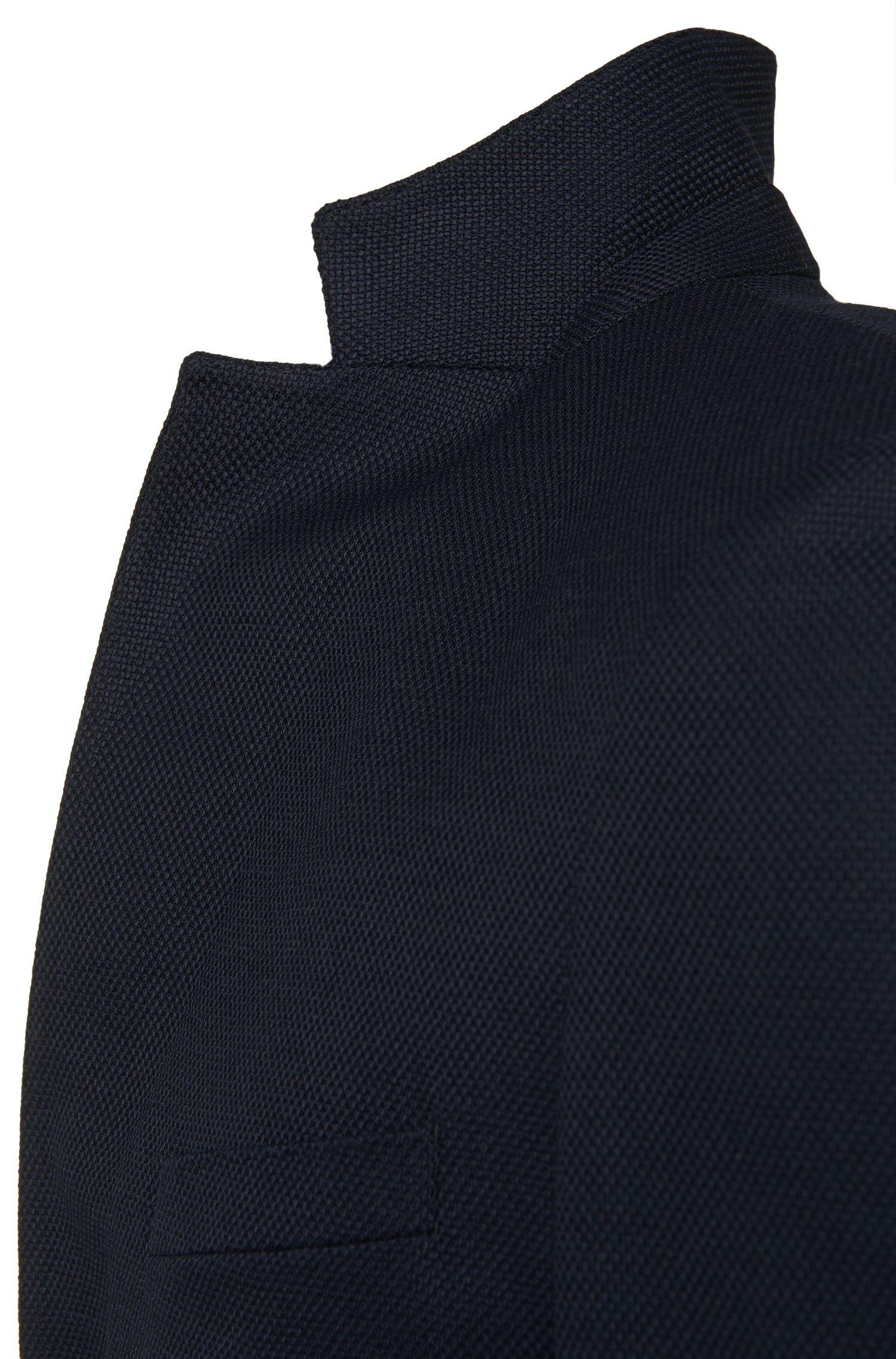 Veste de costume Extra Slim Fit en laine vierge stretch: «Roan»