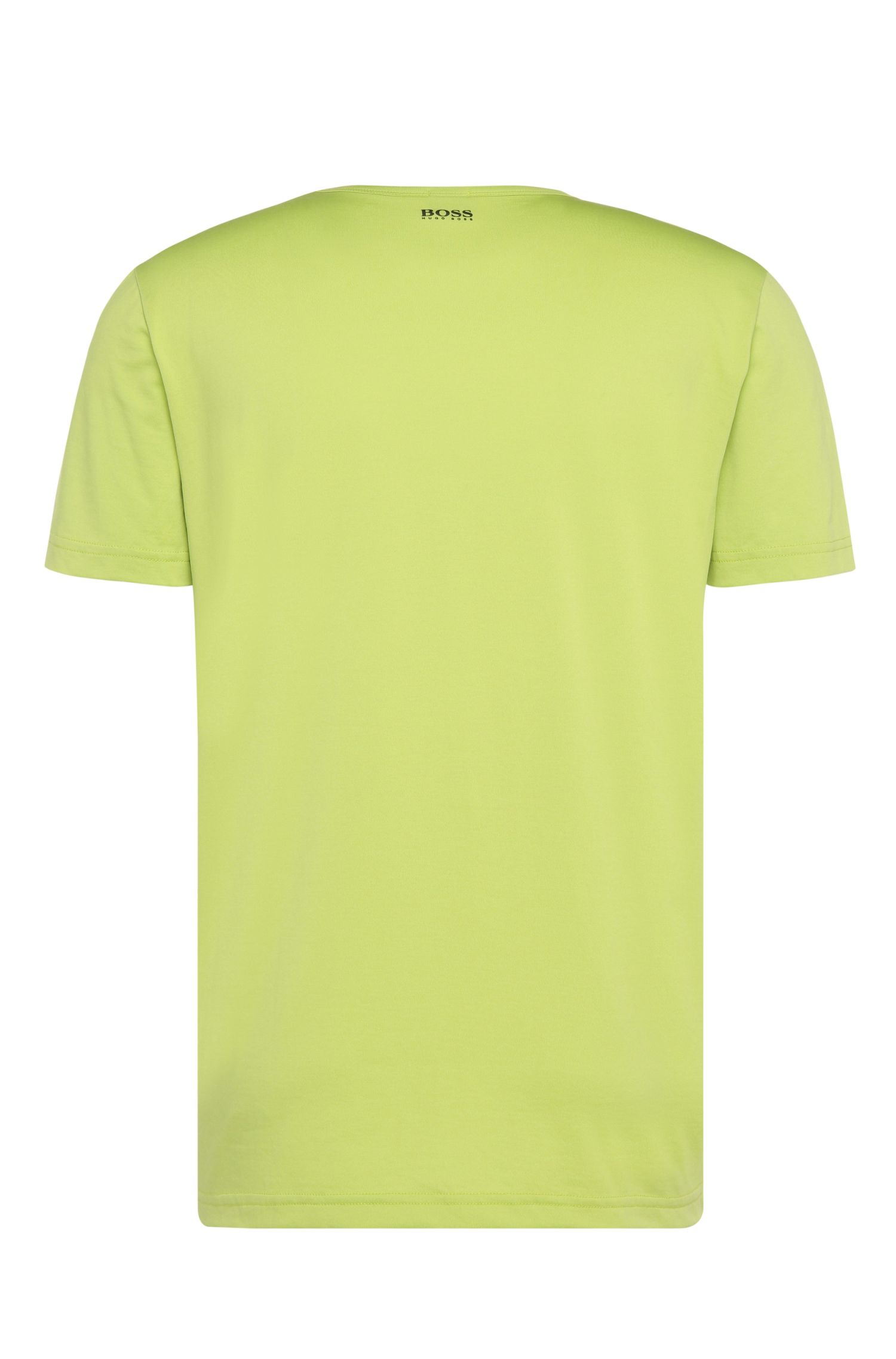 Regular-Fit Print-Shirt aus einem Baumwoll-Mix: ´Tee 7`