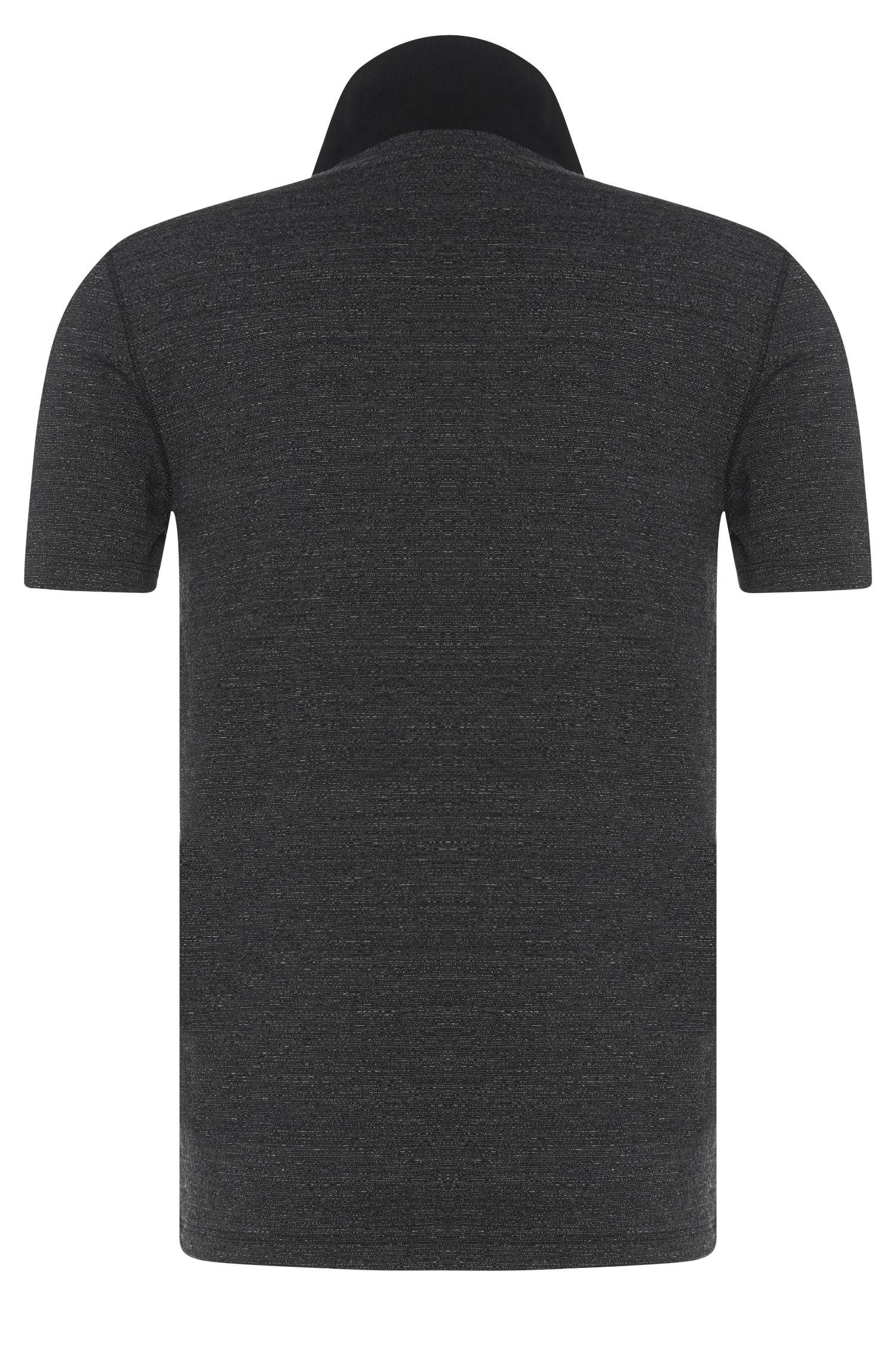 Slim-Fit Poloshirt aus Baumwoll-Mix: 'Plater 02'