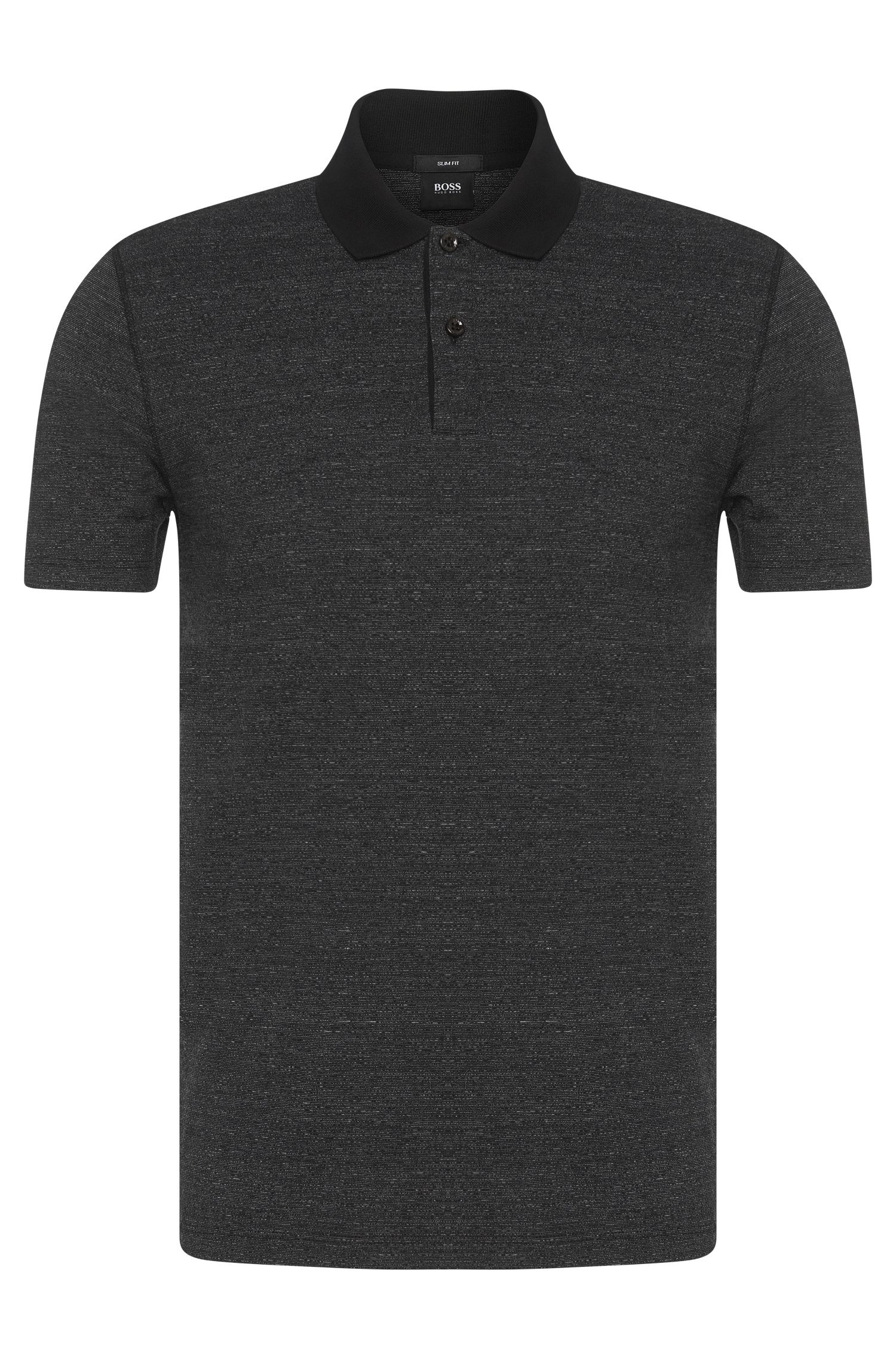 Polo slim fit in misto cotone: 'Plater 02'