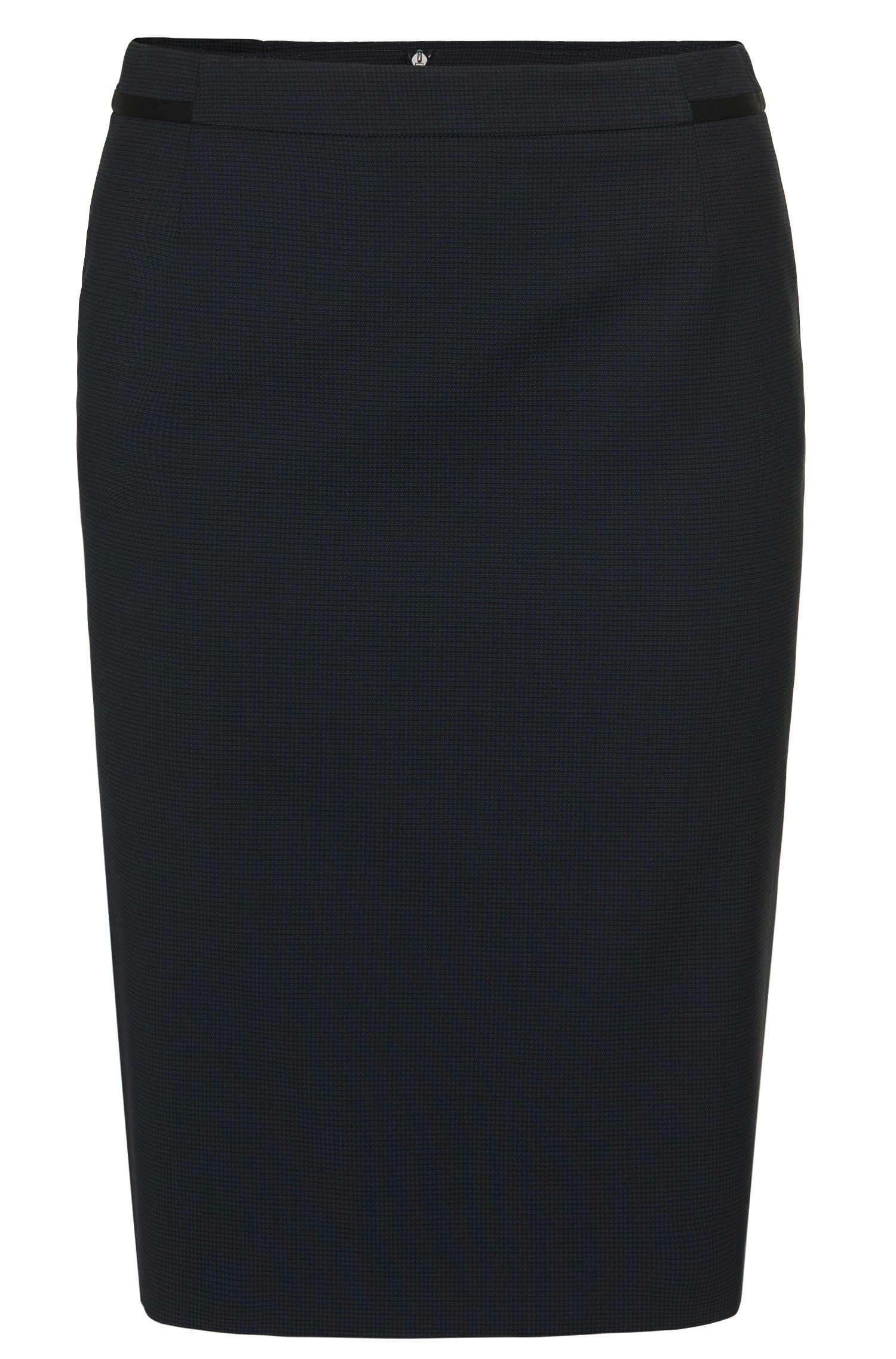 Pencil skirt in stretchy new-wool blend: 'Veresa'