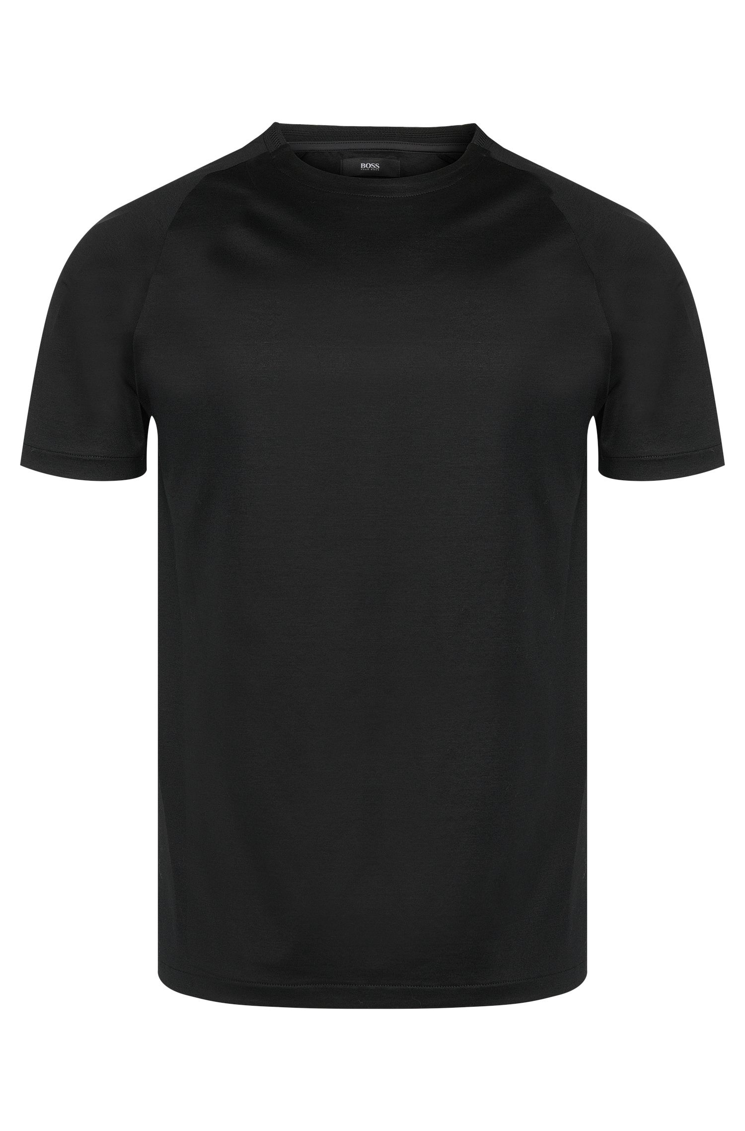 T-shirt Slim Fit en coton extensible mercerisé : « Tessler 22 » issu de la collection Mercedes-Benz
