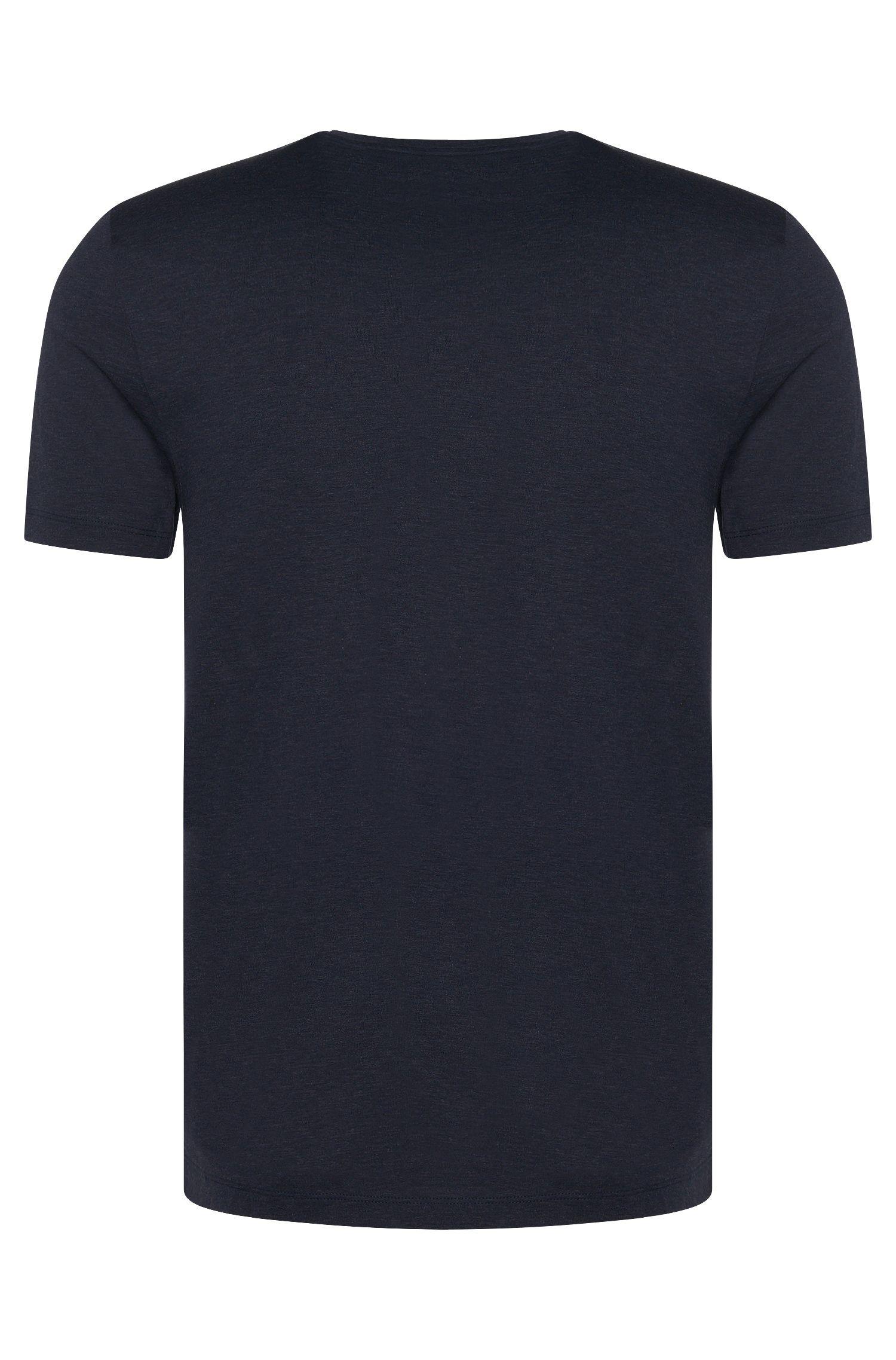 Slim Fit T-Shirt aus Baumwoll-Mix mit Seide: 'Tessler 26'