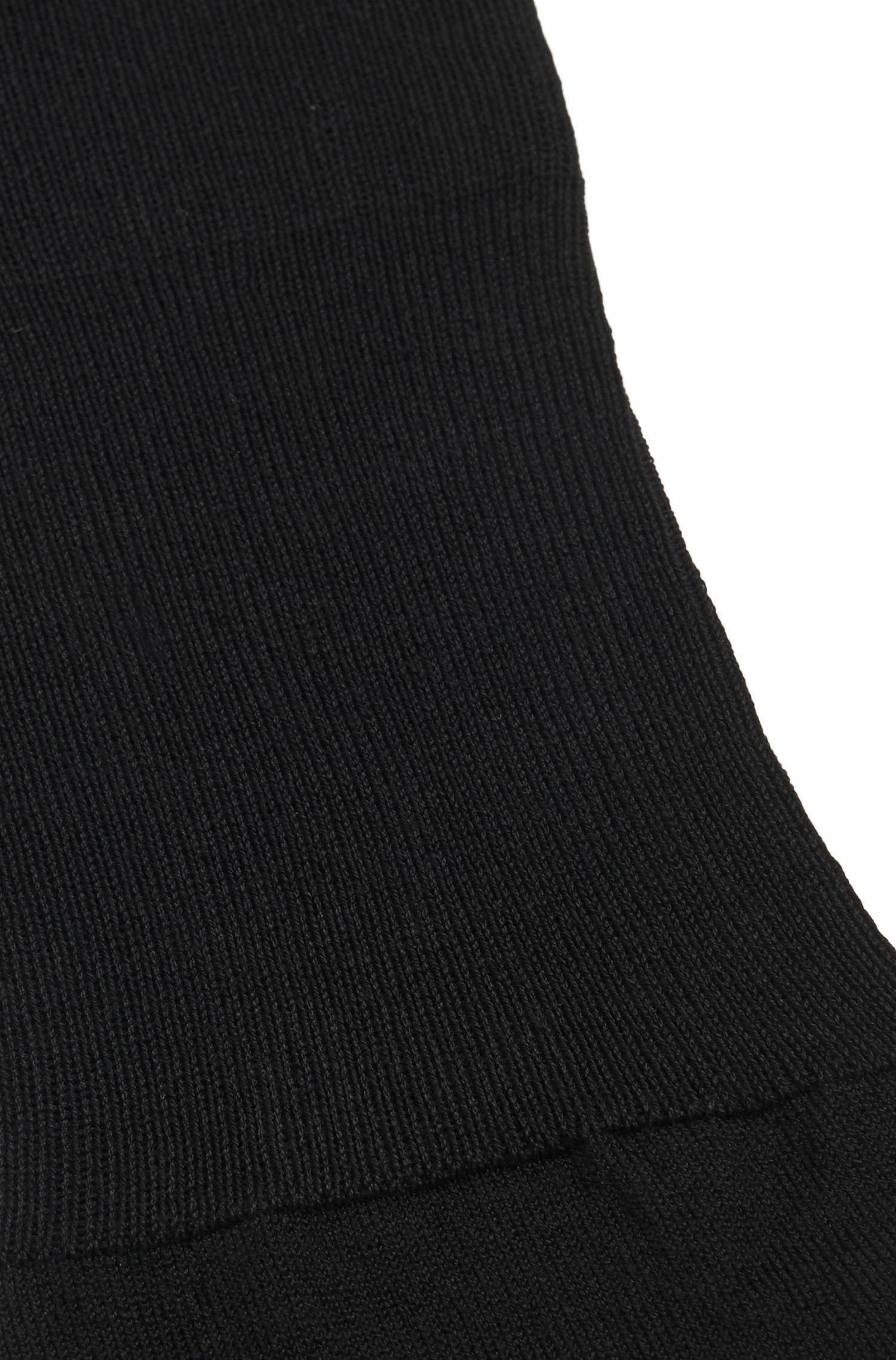 Unifarbene Kniestrümpfe aus merzerisiertem Baumwoll-Mix: 'KH Colours'