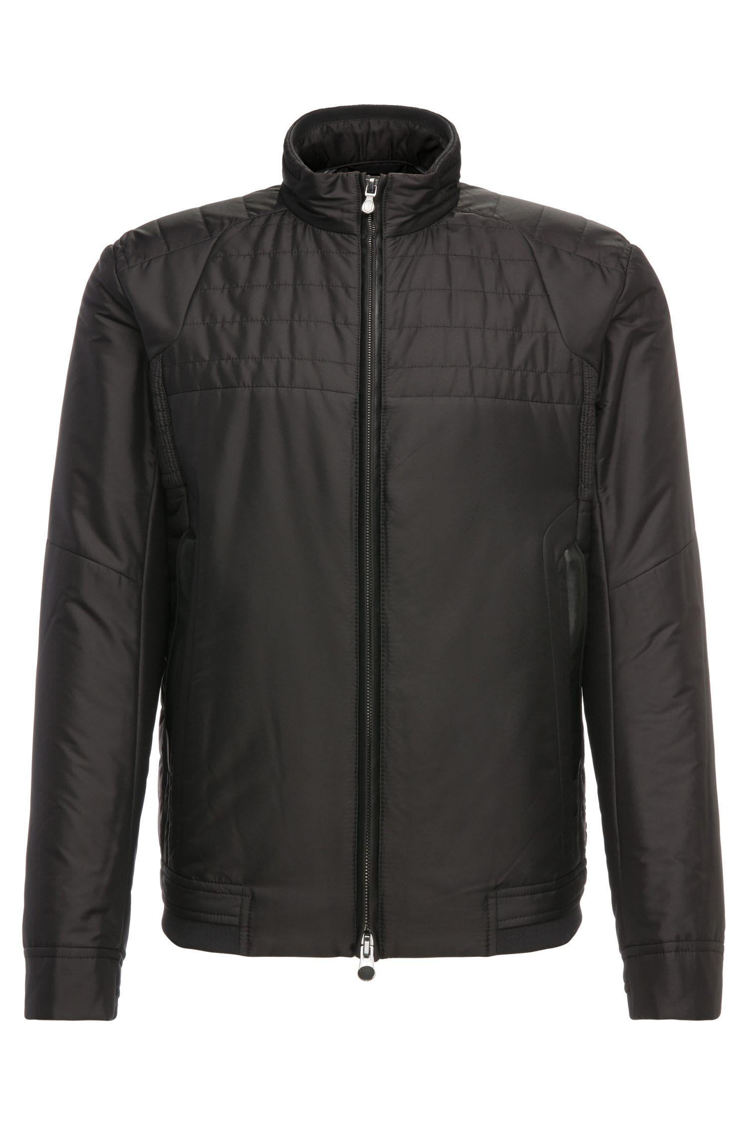 Regular-Fit Jacke in leicht changierender Qualität: ´Jomark`