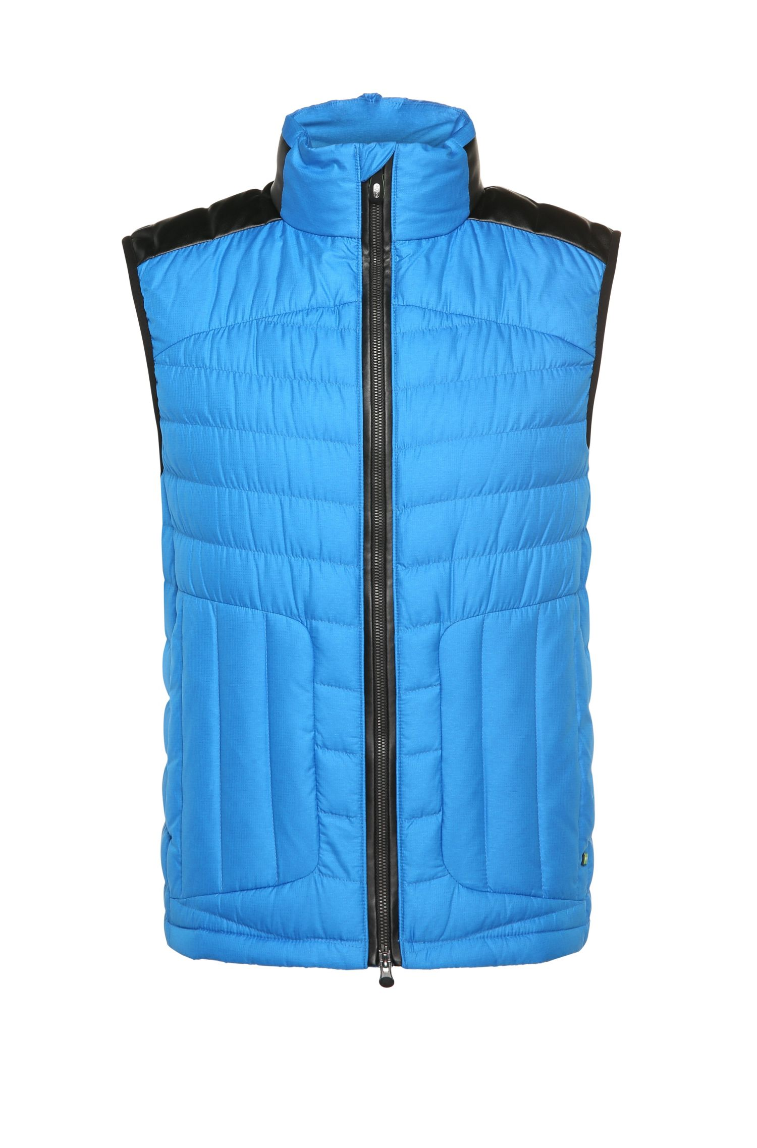 Quilted outdoor waistcoat with down padding: 'Vannick'