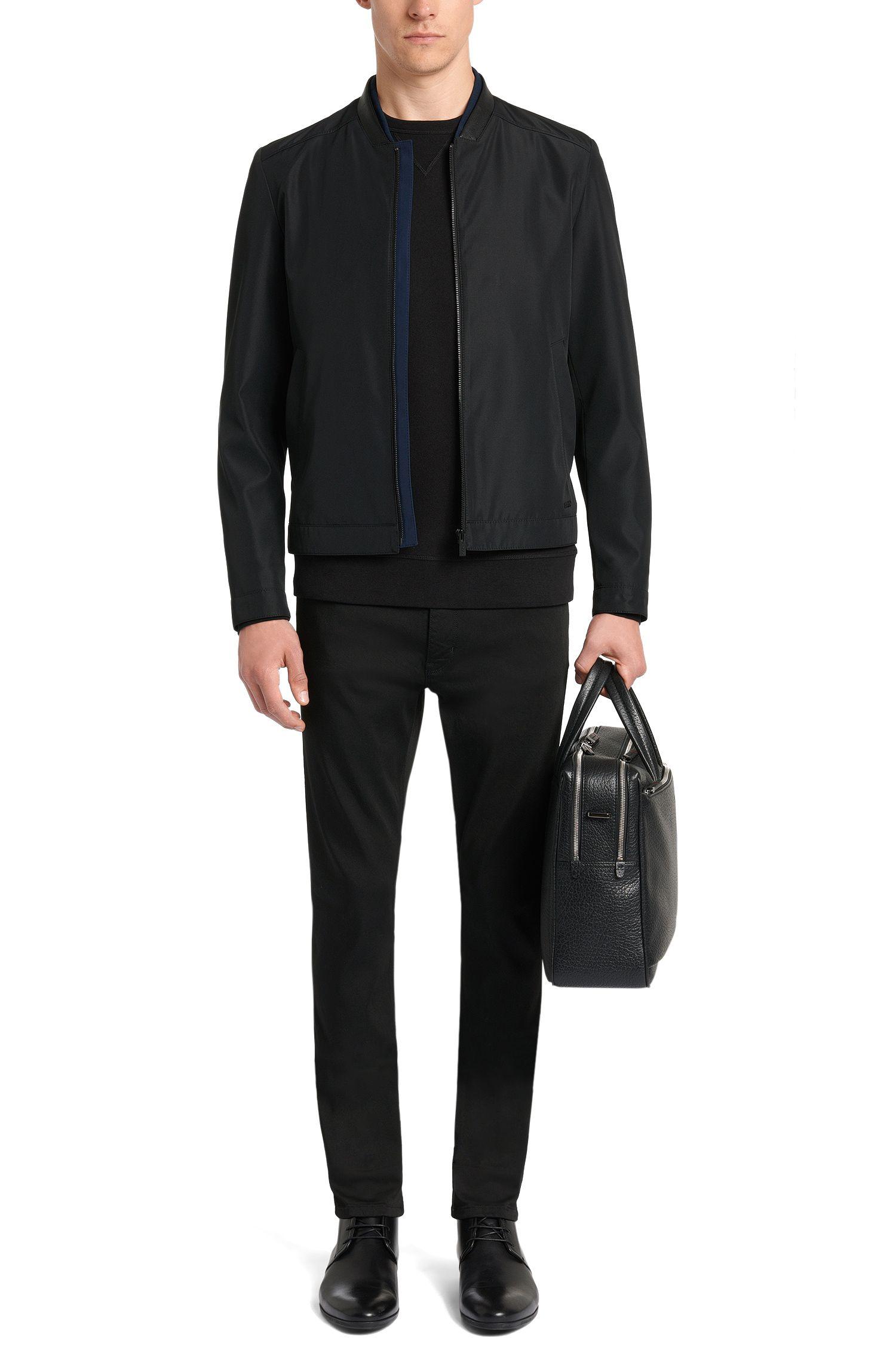 Regular-fit, tweezijdig te dragen sweatshirt van katoen: 'Dreviso'