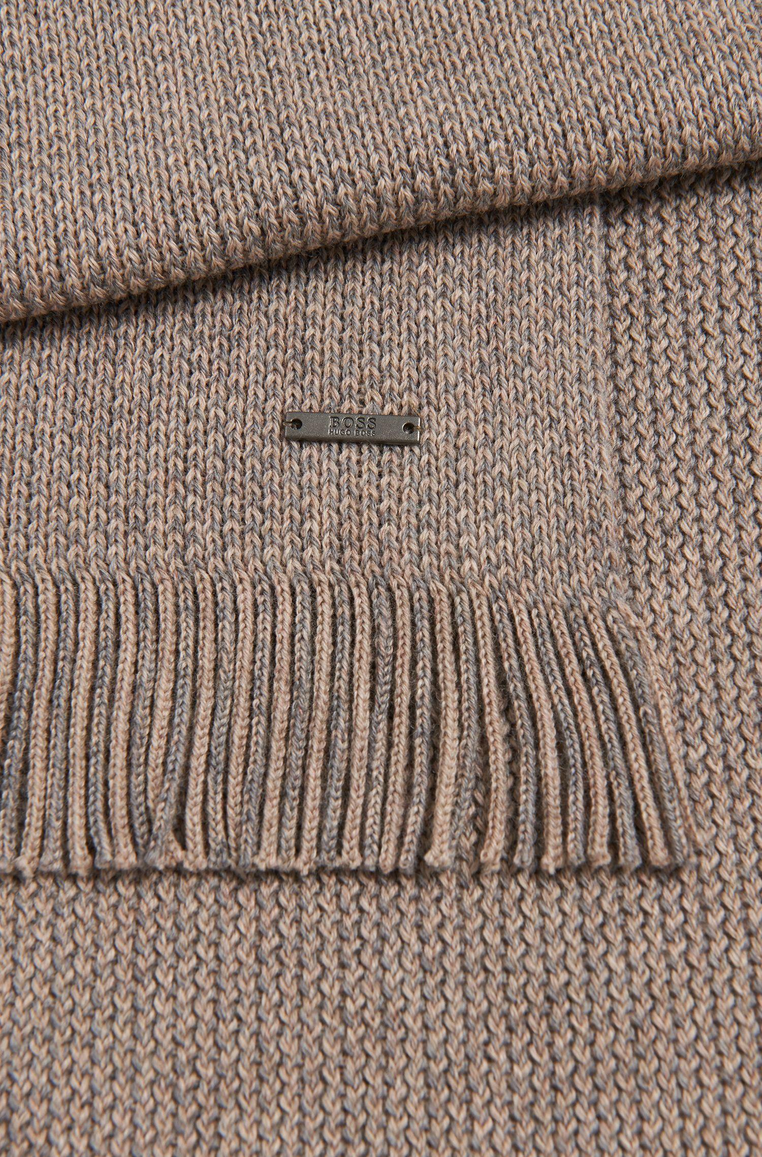 Fein melierter Schal aus Schurwolle: 'Maroso'