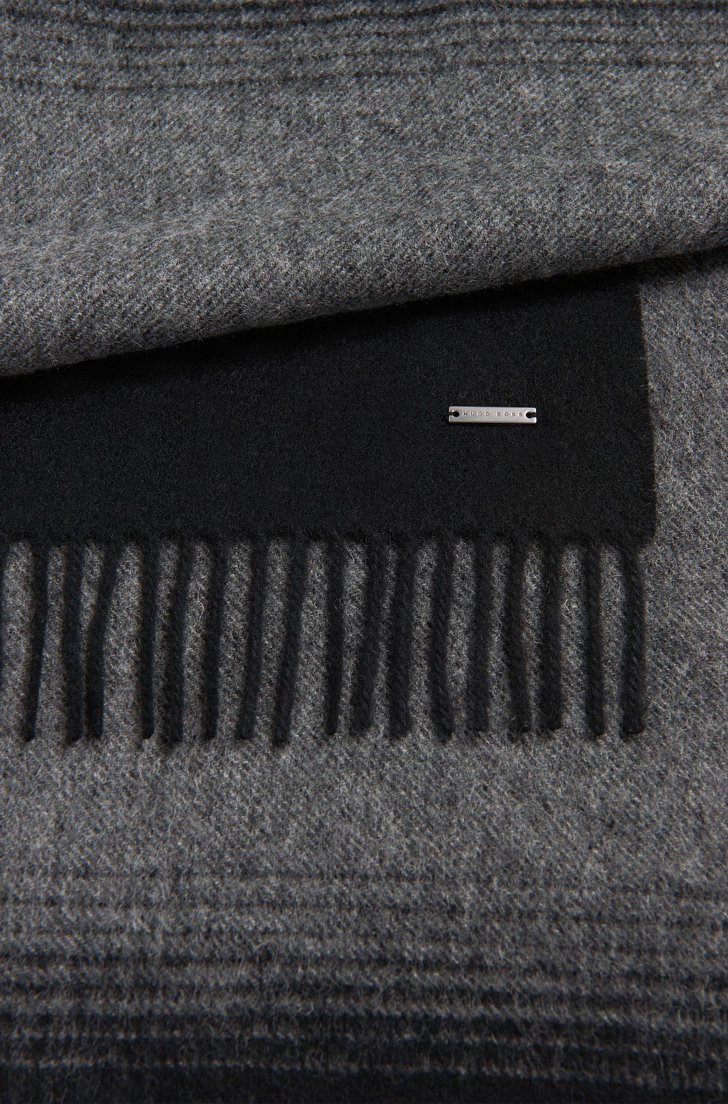 Schal aus Schurwolle mit Farbverlauf: 'Heroso'