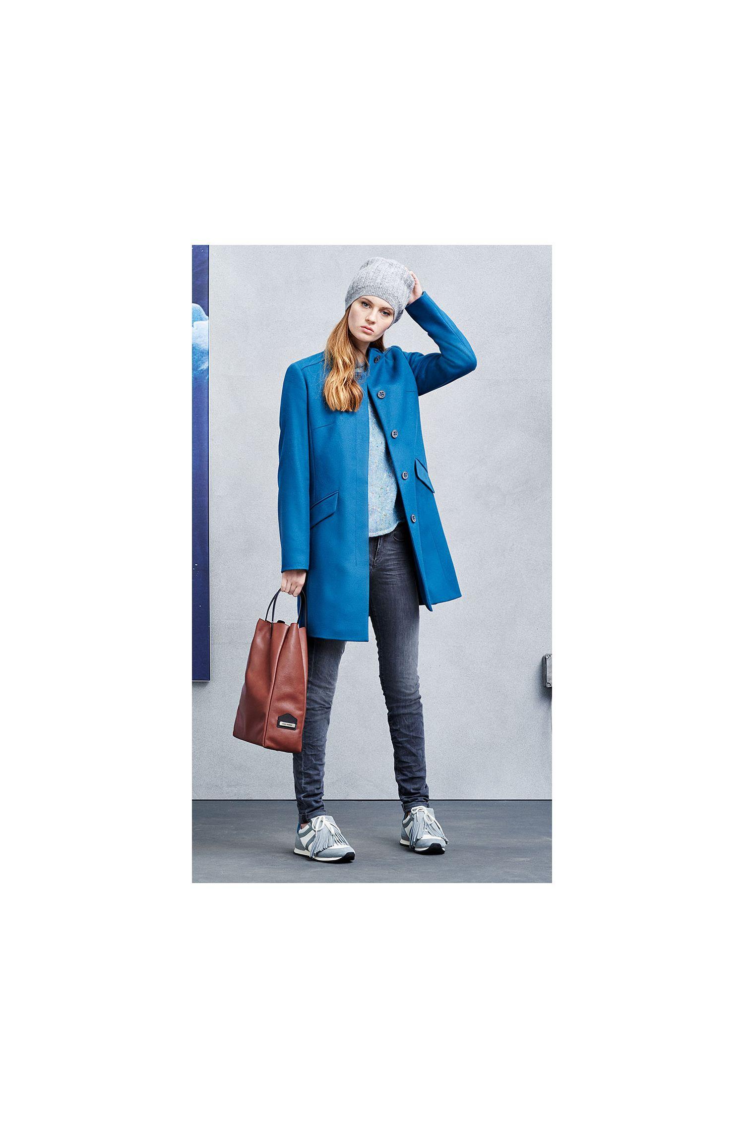 Slim-Fit Mantel aus Woll-Mix: ´Okirana3`