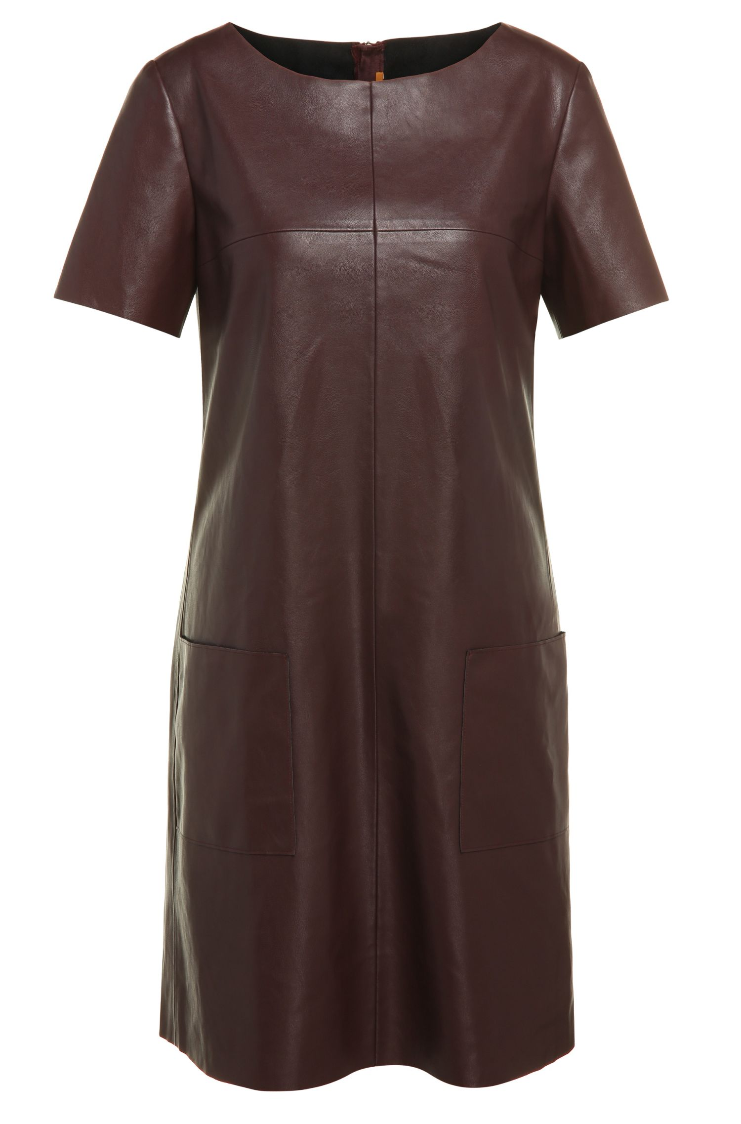 Regular-fit leather-look dress: 'Apelilly'