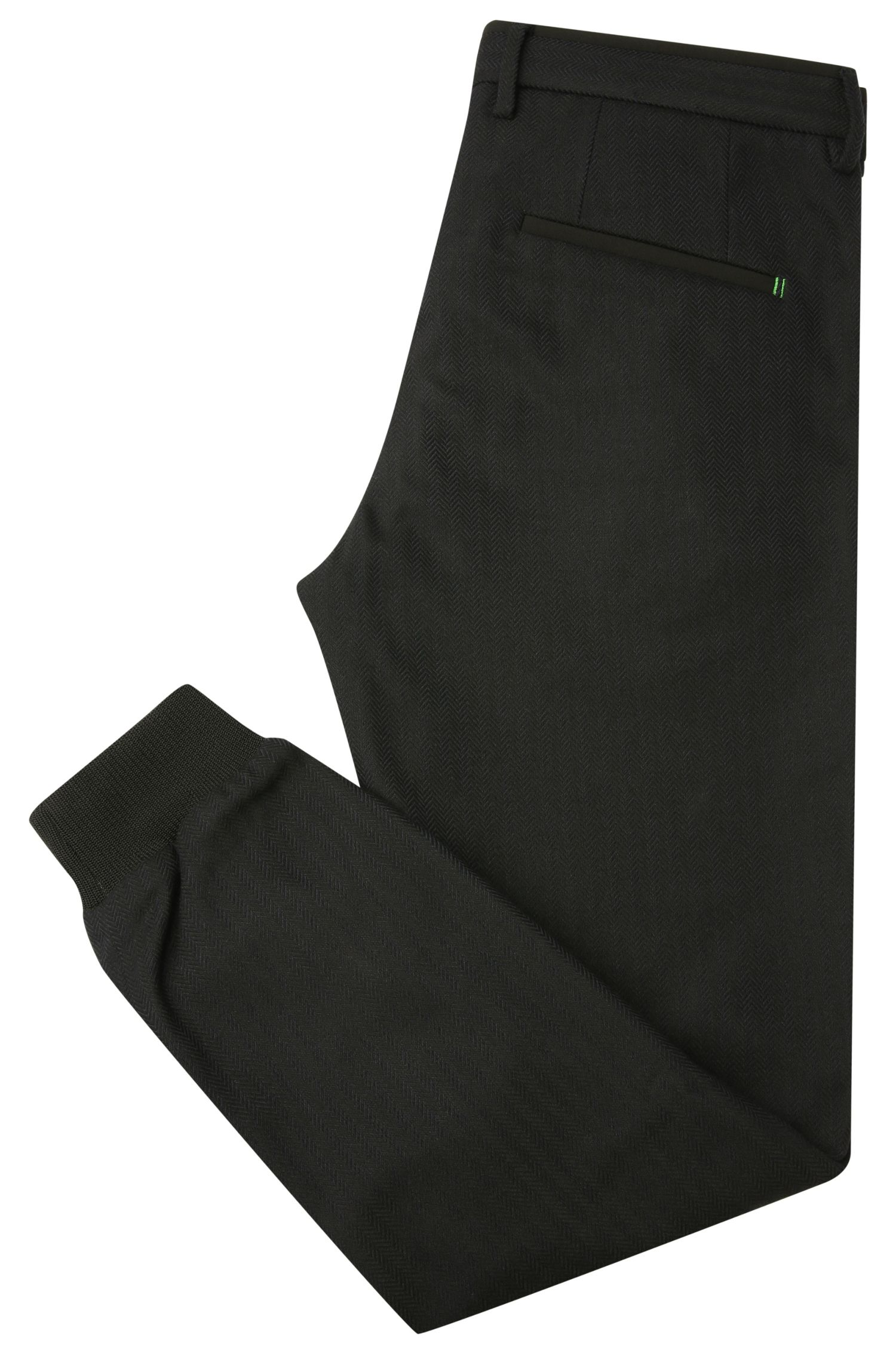 Slim-Fit Hose aus elastischem Material-Mix mit Viskose: ´Loomes1`