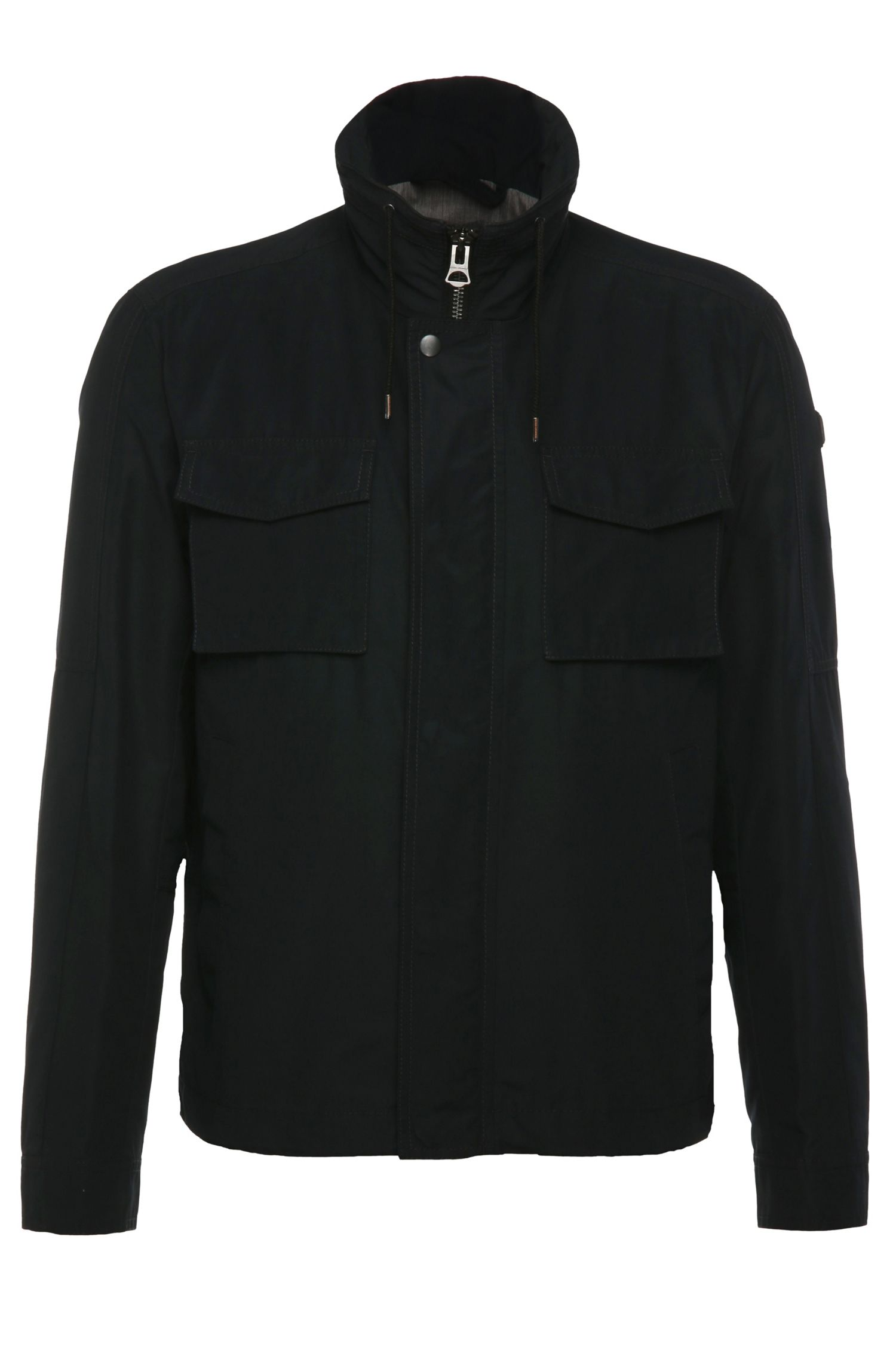 Regular-fit jacket in cotton blend: 'Ogunner'