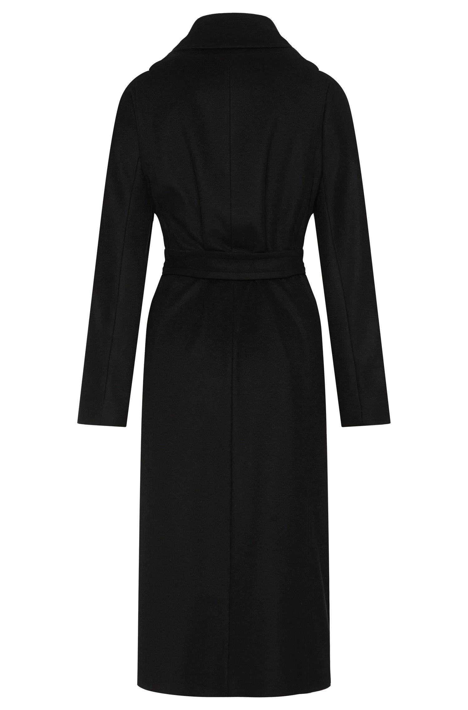 Manteau en laine vierge mélangée, avec du cachemire: «Cordina»