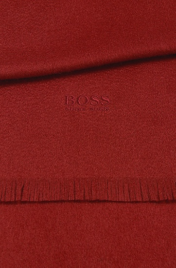 Tailored Schal aus Kaschmir: 'T-Scottas', Rot