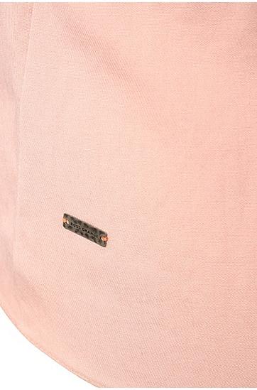 Comfort-Fit Lagen-Top aus einem Material-Mix mit Baumwolle: ´Kupina`, Pink