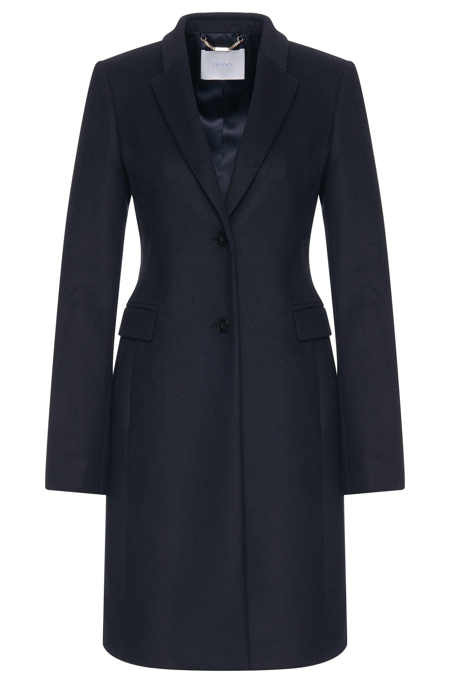 Manteau en laine vierge mélangée à teneur en cachemire: «Cavyla»