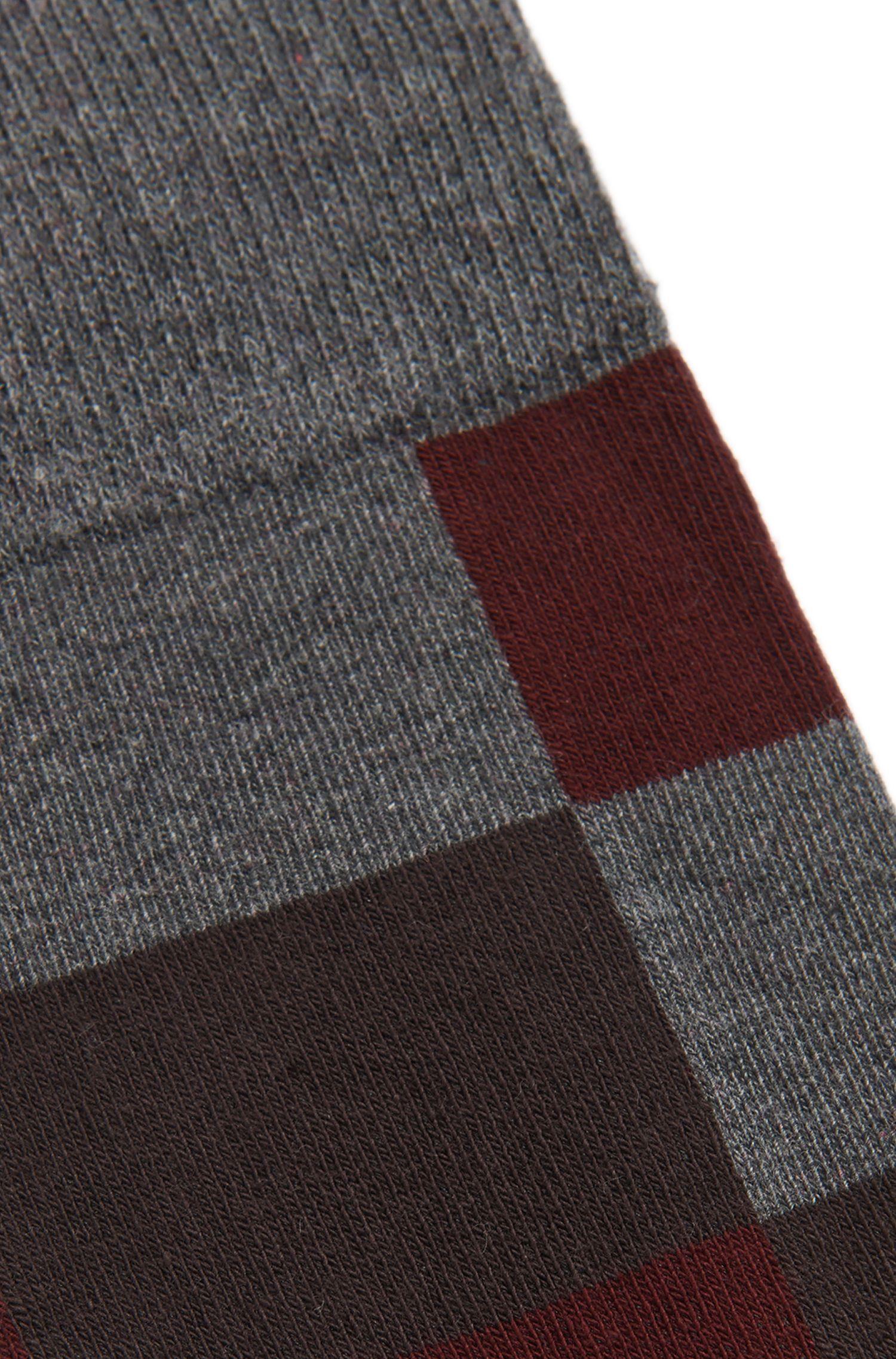 Gemusterte Socken aus Baumwoll-Mix: 'RS Design US'