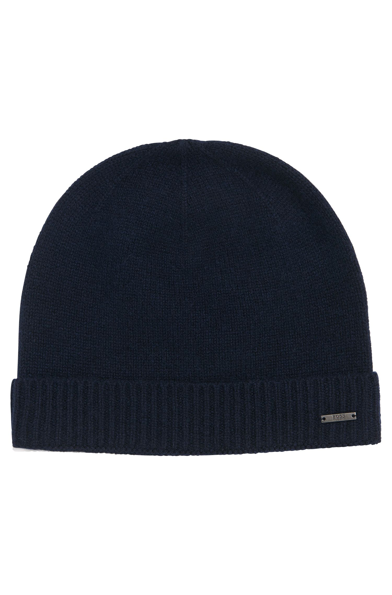 Unifarbene Mütze aus Kaschmir: 'Frolino_D'