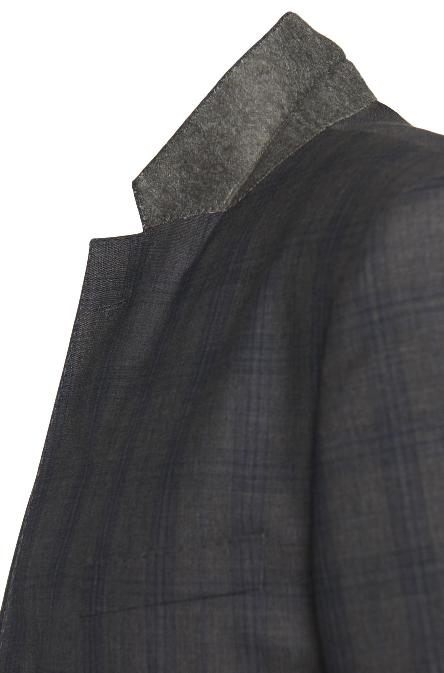 Costume Regular Fit en laine vierge avec motif tartan: «Johnstons1/Lenon»