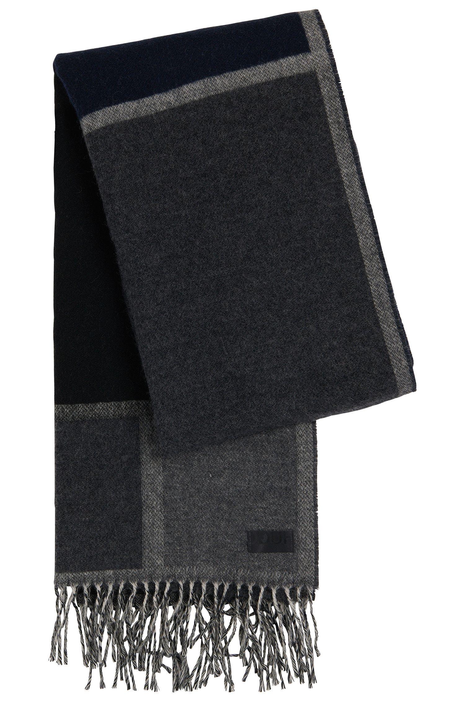 Karierter Schal aus Woll-Mix mit Schurwolle: 'Men-Z 455'
