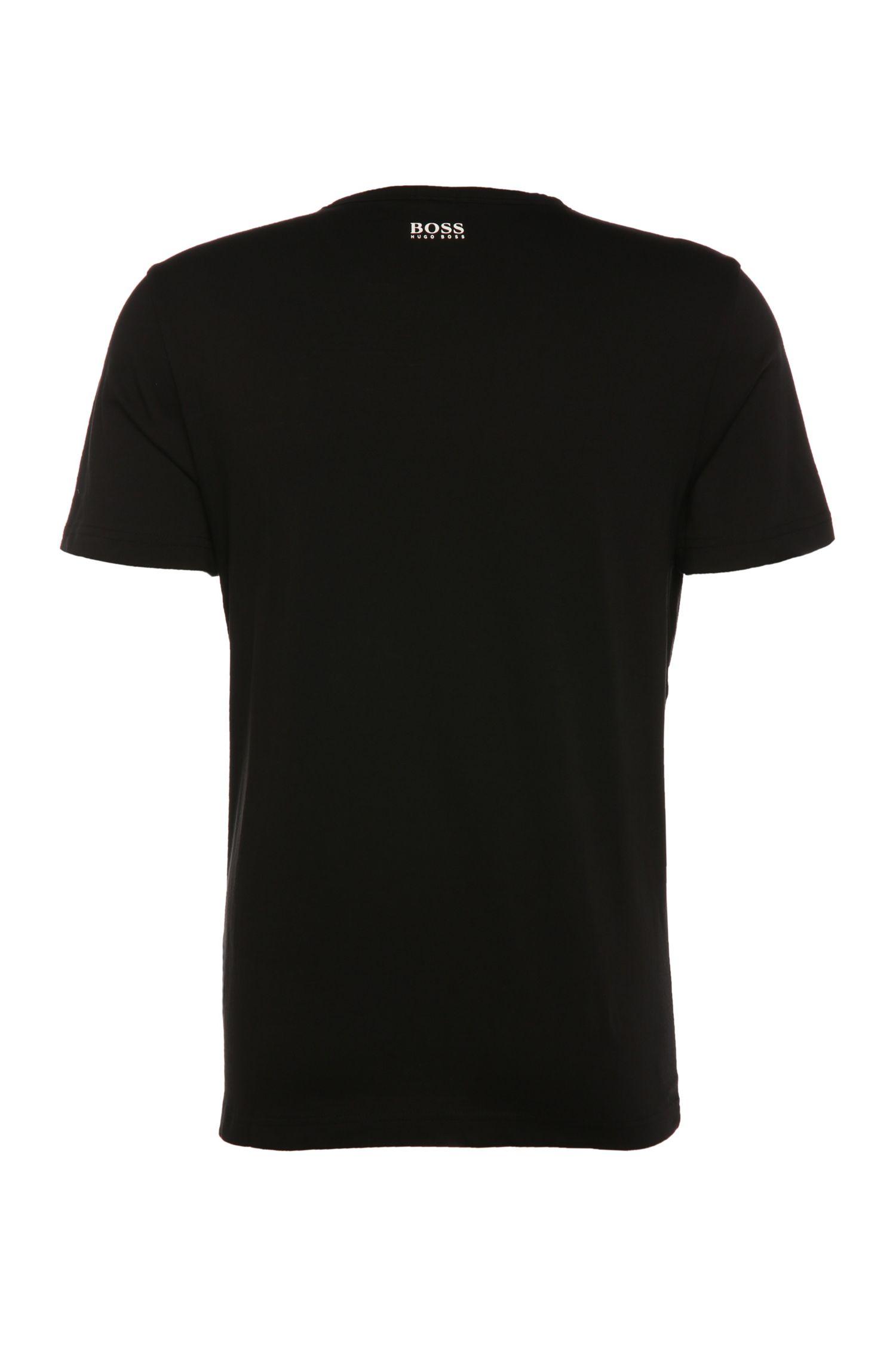 T-shirt imprimé Regular Fit en pur coton: «Tee8»