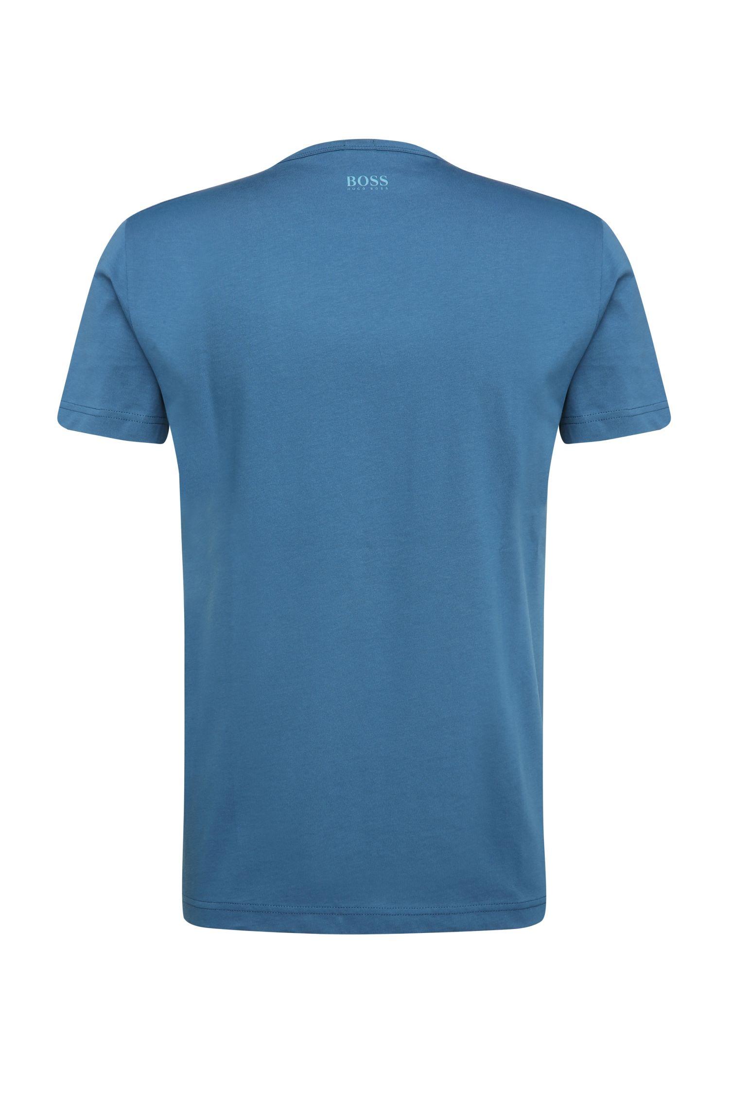 T-Shirt aus Baumwolle mit Label-Print: ´Tee 6`