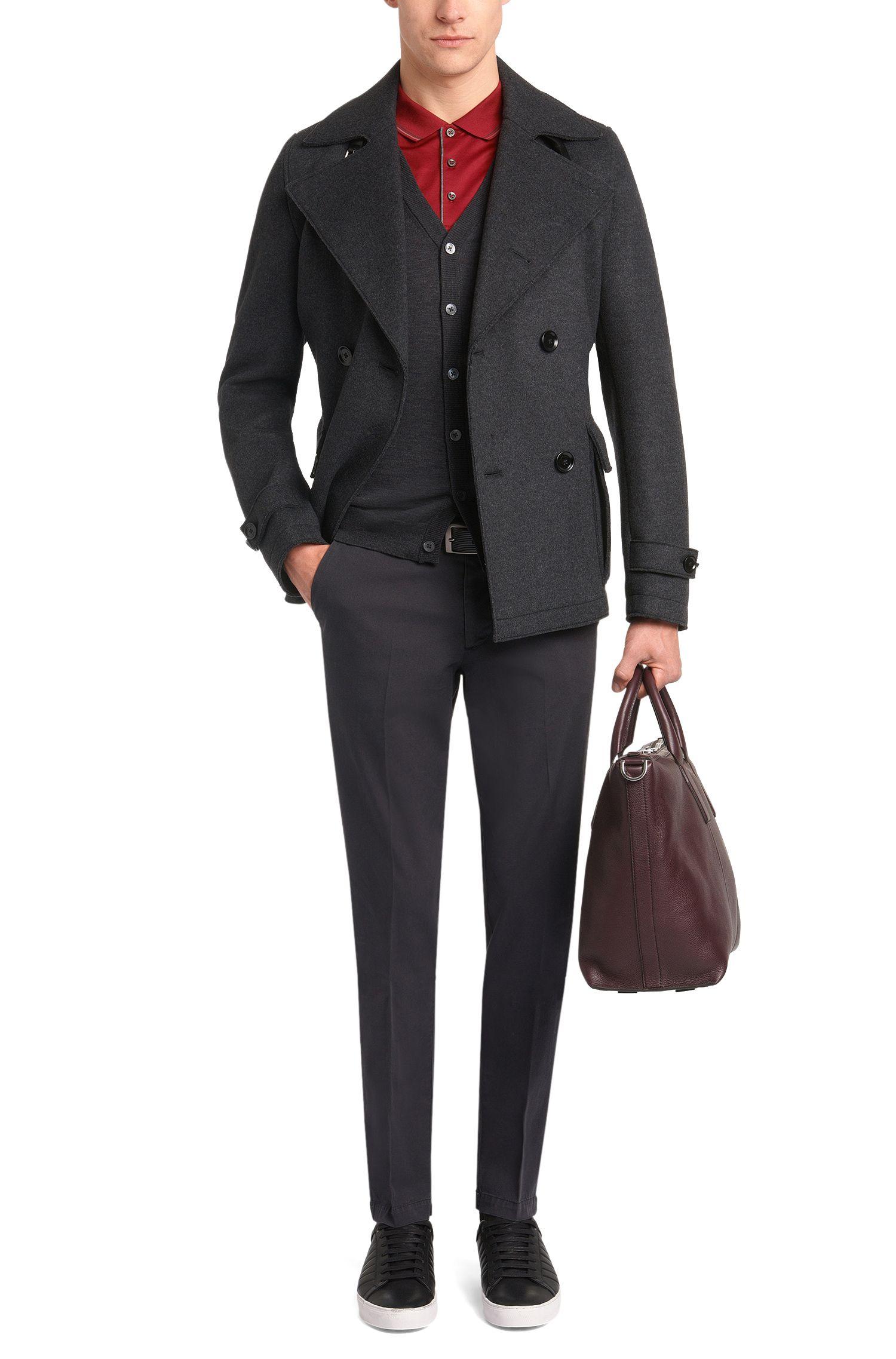 Polo Slim Fit en coton: «Phillipson05»
