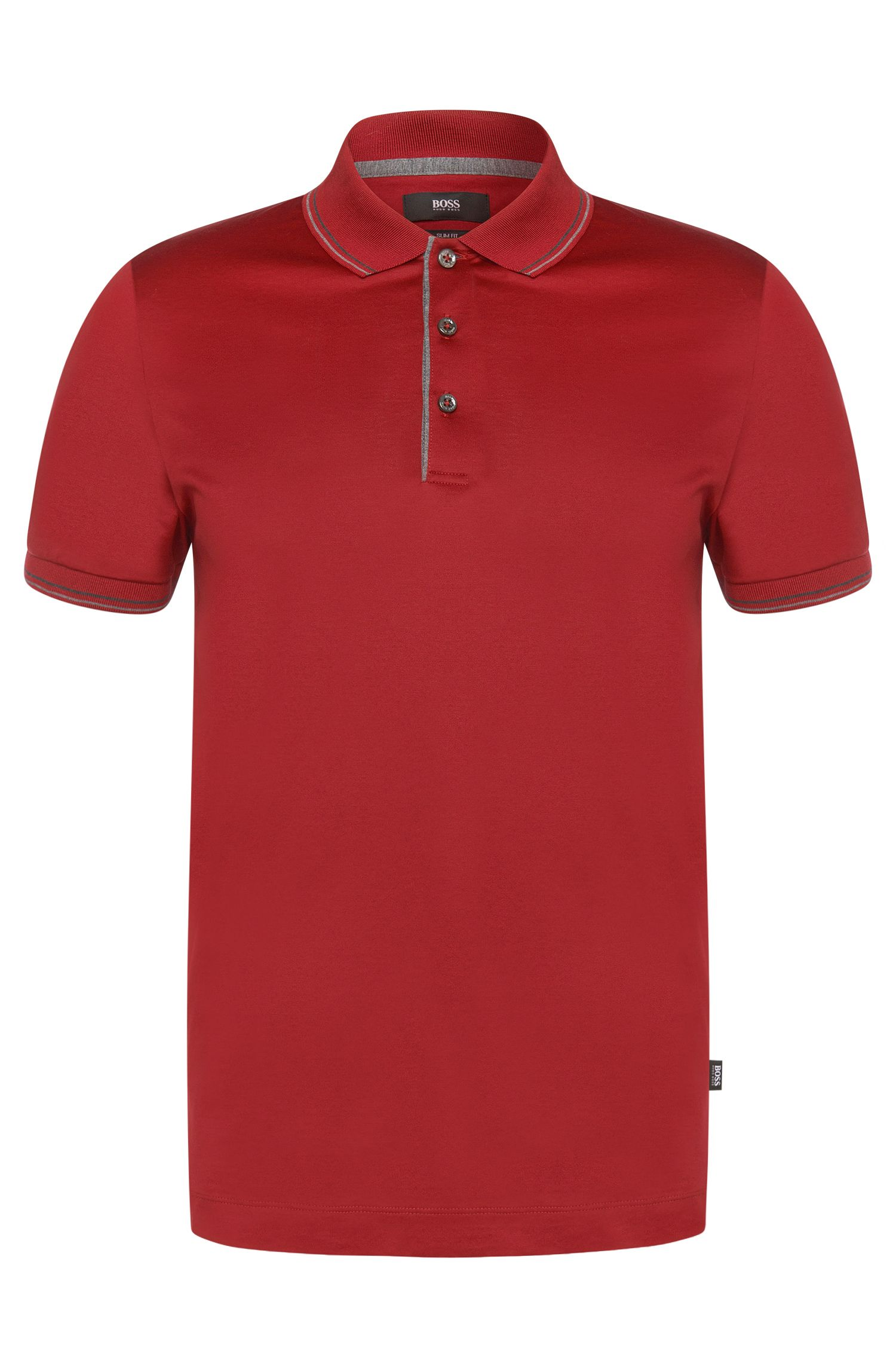 Slim-Fit Poloshirt aus Baumwolle: 'Phillipson 05'