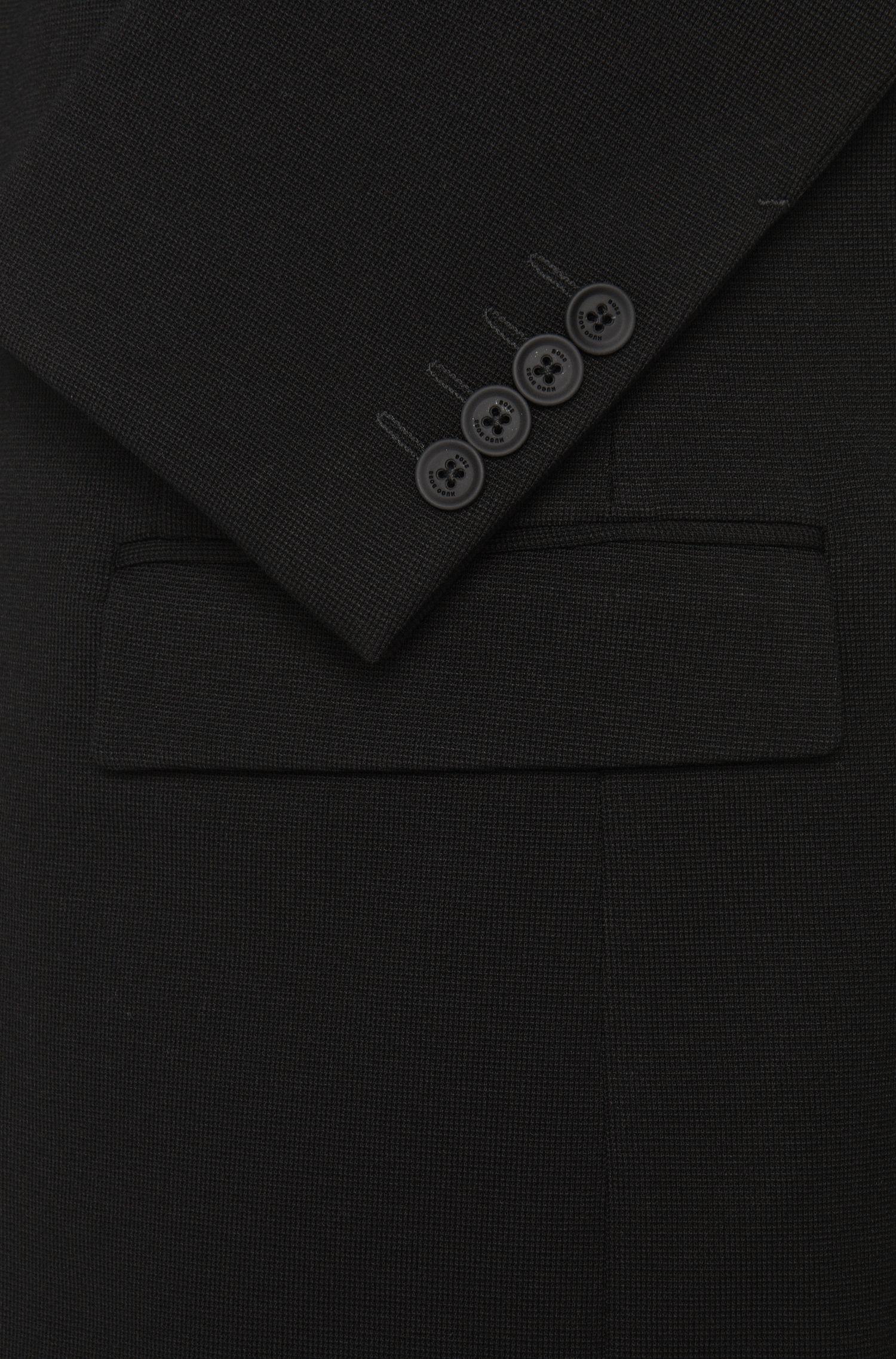 Veste de costume Extra Slim Fit en viscose mélangée unie: «Randal»