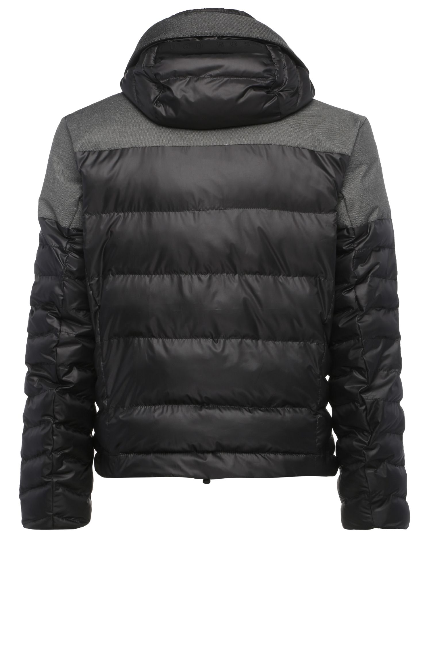 Blouson Regular Fit en mélange de structures : « Jugor »
