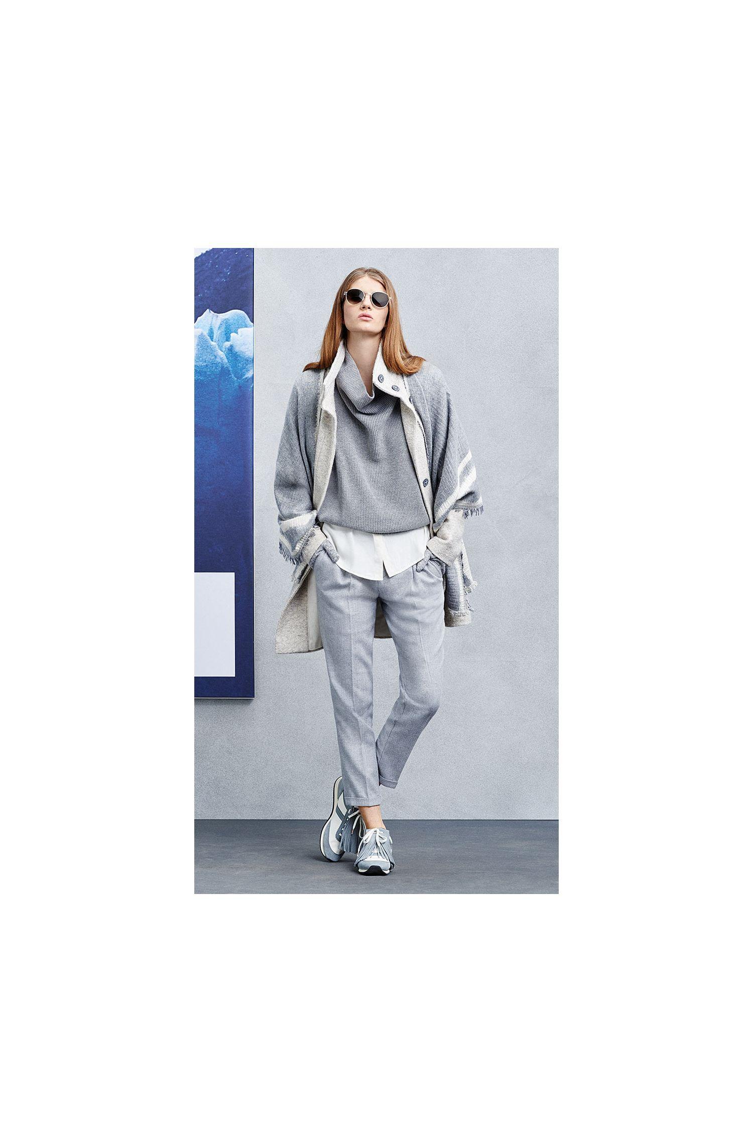 Comfort-Fit Hose aus Baumwoll-Mix mit Schurwolle: ´Sacupra`