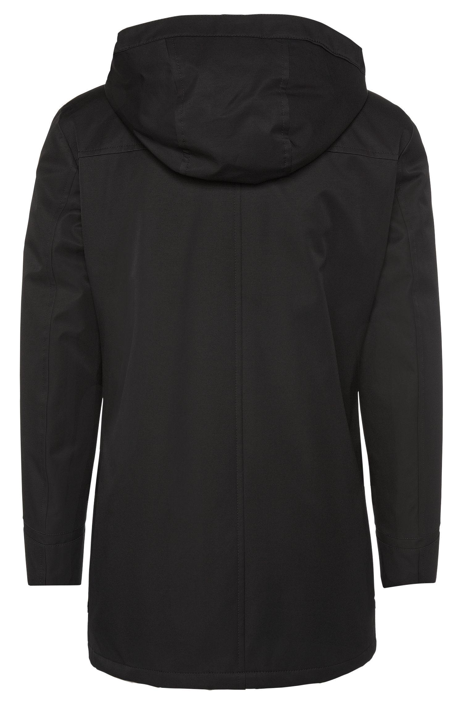 Gefütterter Duffle Coat aus wasserabweisendem Gewebe: 'Mektor1'