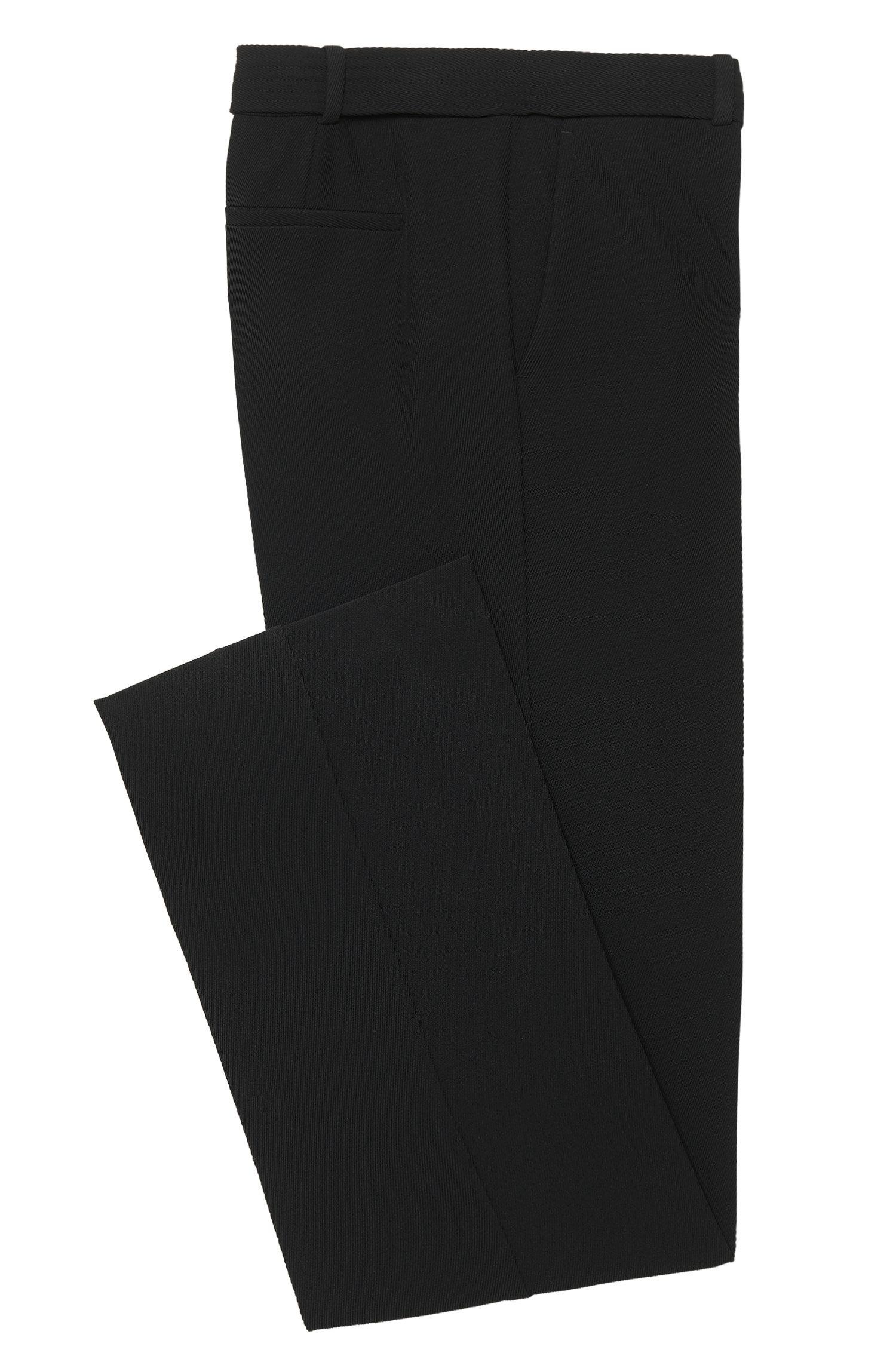 Relaxed-Fit Bügelfaltenhose mit Gürtel: 'Aliama'
