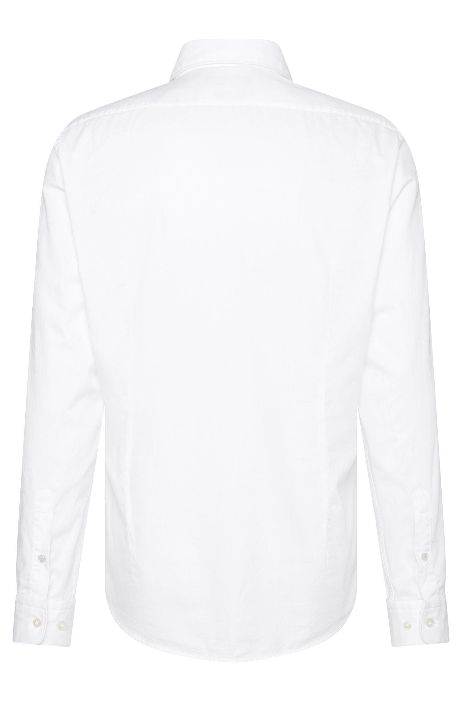Chemise Regular Fit en coton à motif fin: «Lukas_39F»