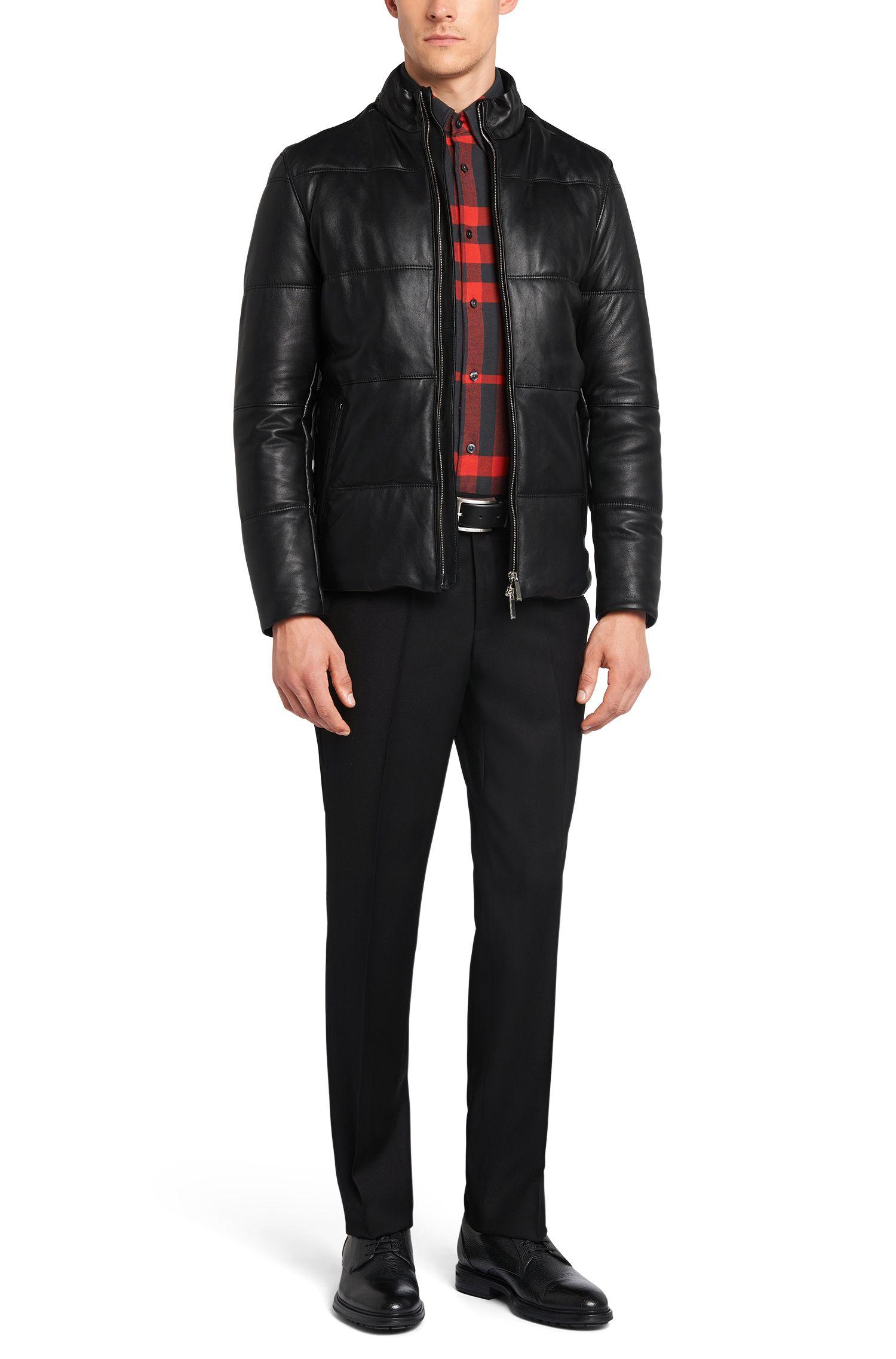 Kariertes Slim-Fit Hemd aus Baumwolle: 'Rubens_36F'
