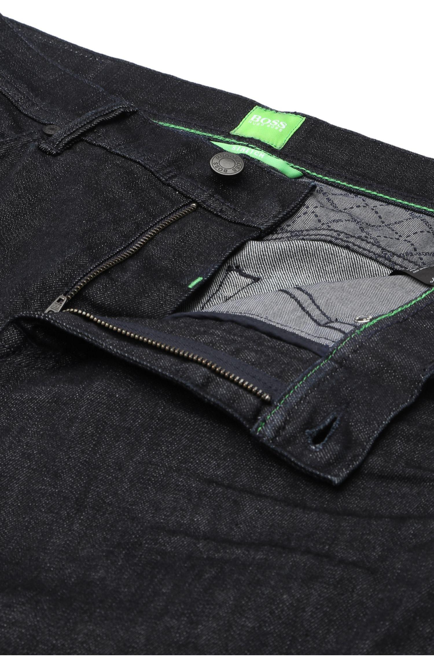Jeans Regular Fit en coton extensible structuré: «Deam30»